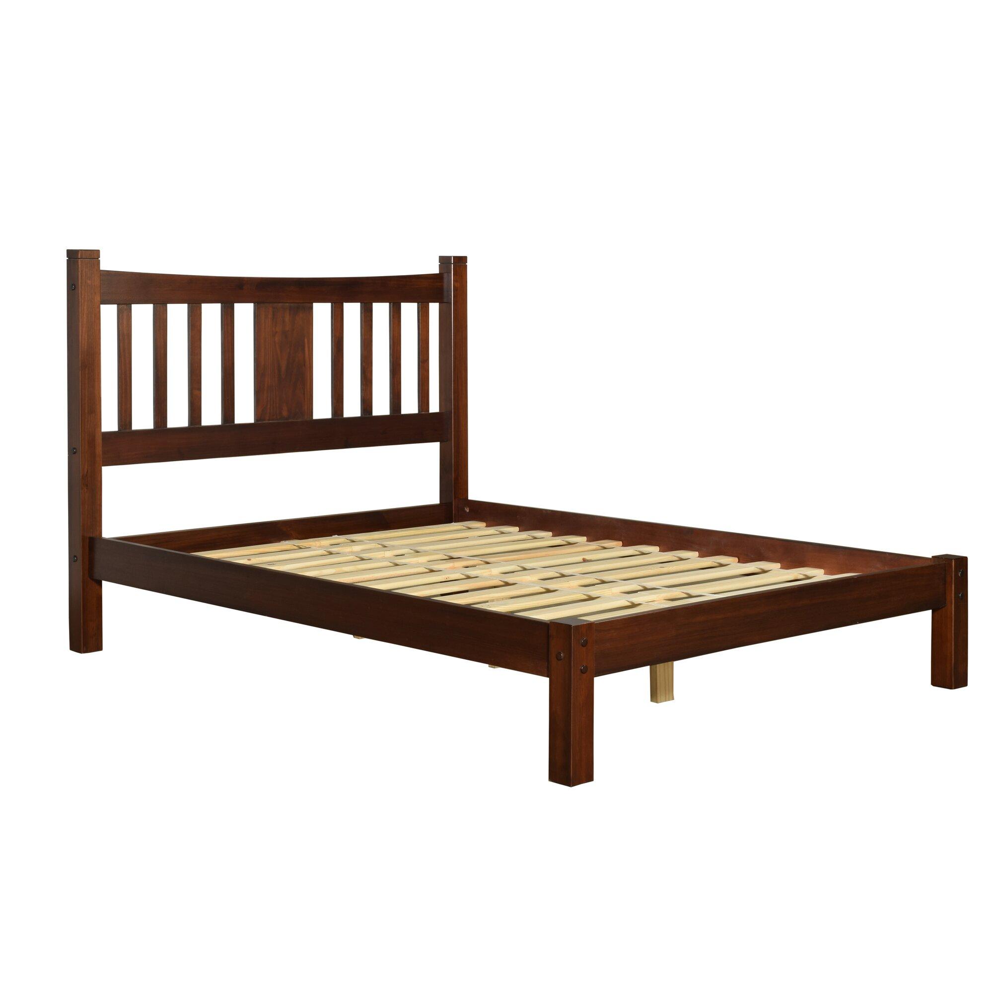 Grain Wood Furniture Shaker Platform Bed & Reviews