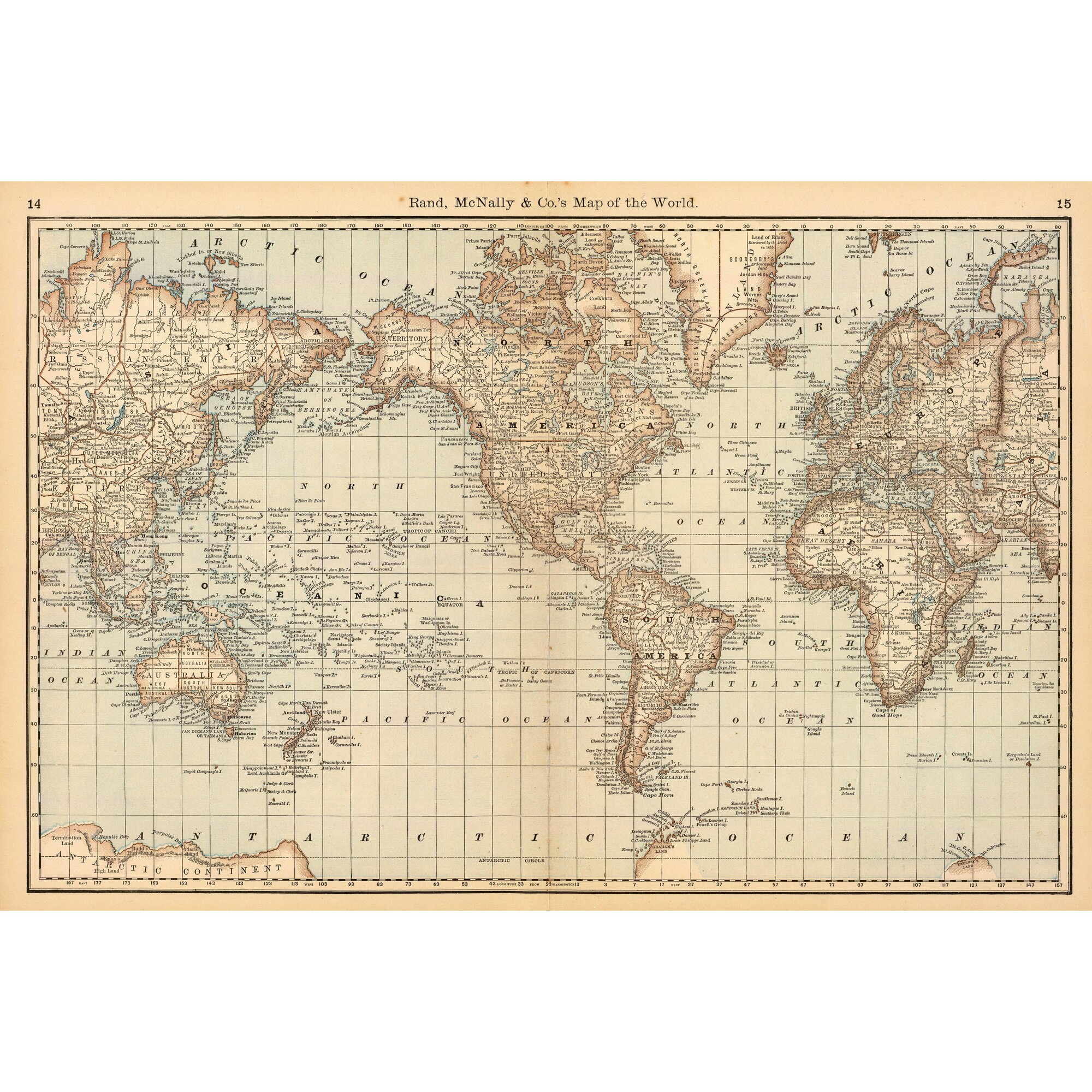 swag paper map of the world wall mural reviews wayfair. Black Bedroom Furniture Sets. Home Design Ideas