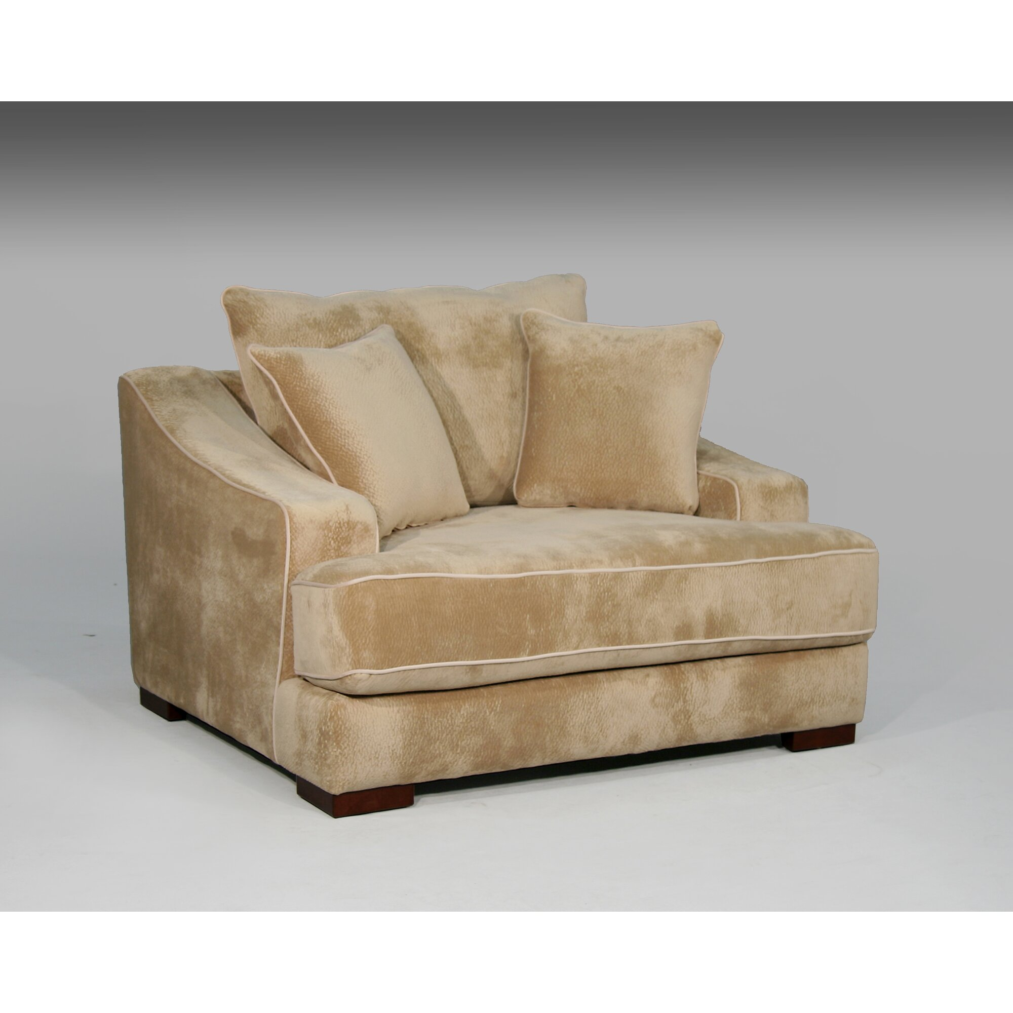 Sage Avenue Cameron Chair and a Half and Ottoman & Reviews