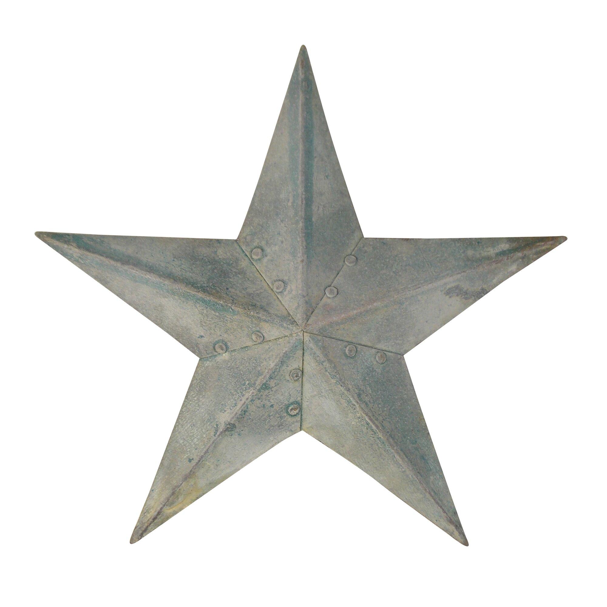 galvanized star wall dcor - Star Wall Decor