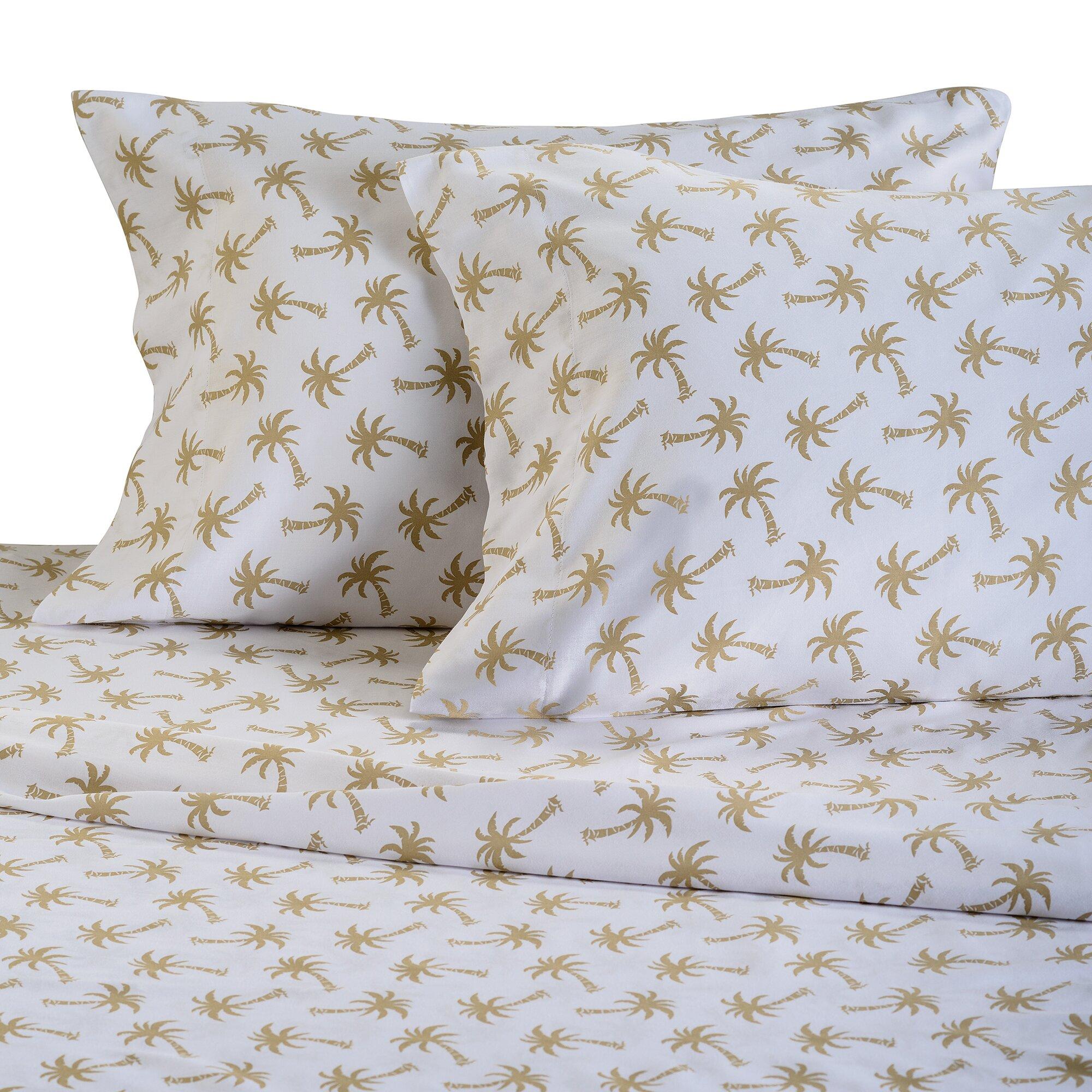 Panama Jack Palm Beach 300 Thread Count Cotton Sheet Set