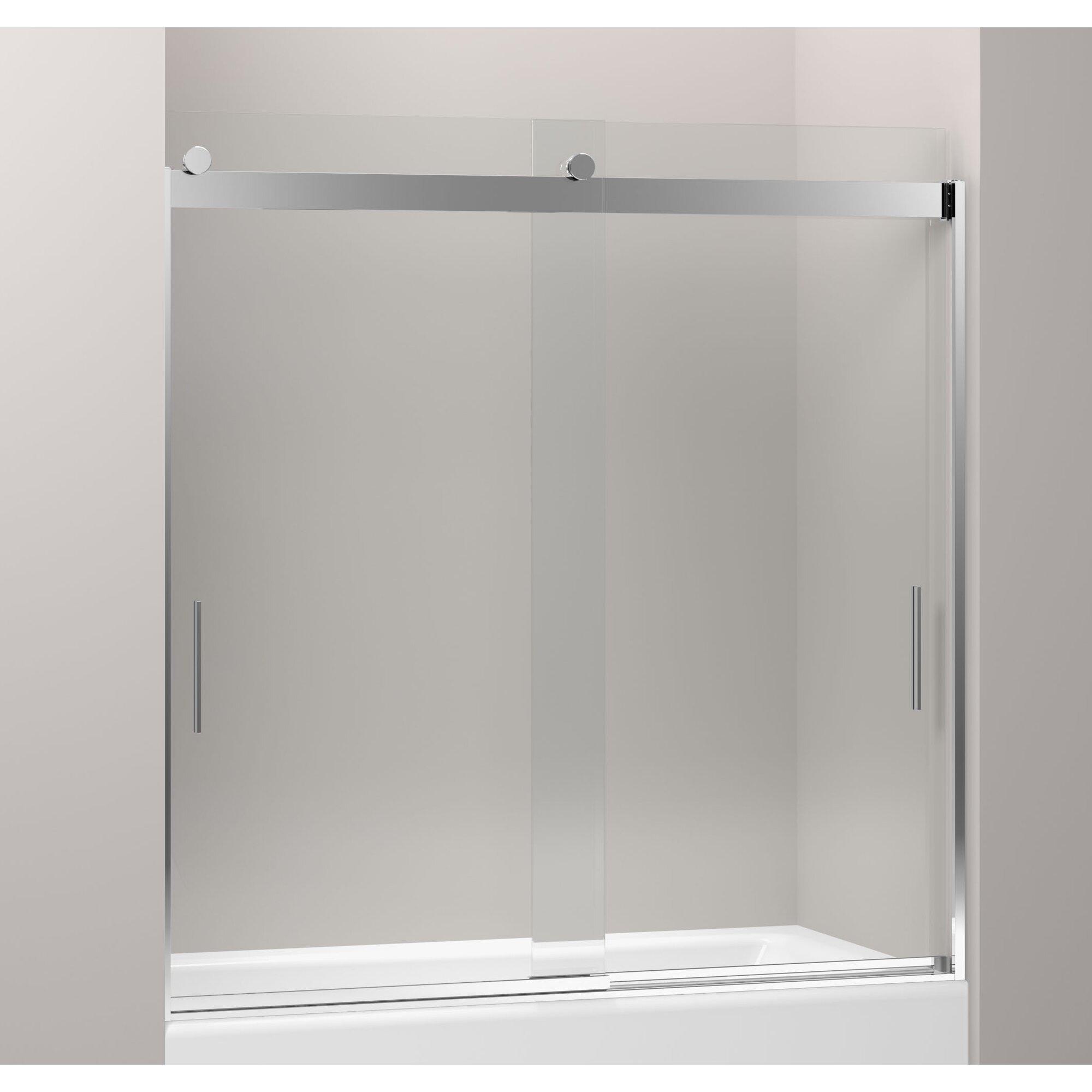 "Kohler Levity 59.63"" X 62"" Bypass Bath Door & Reviews"