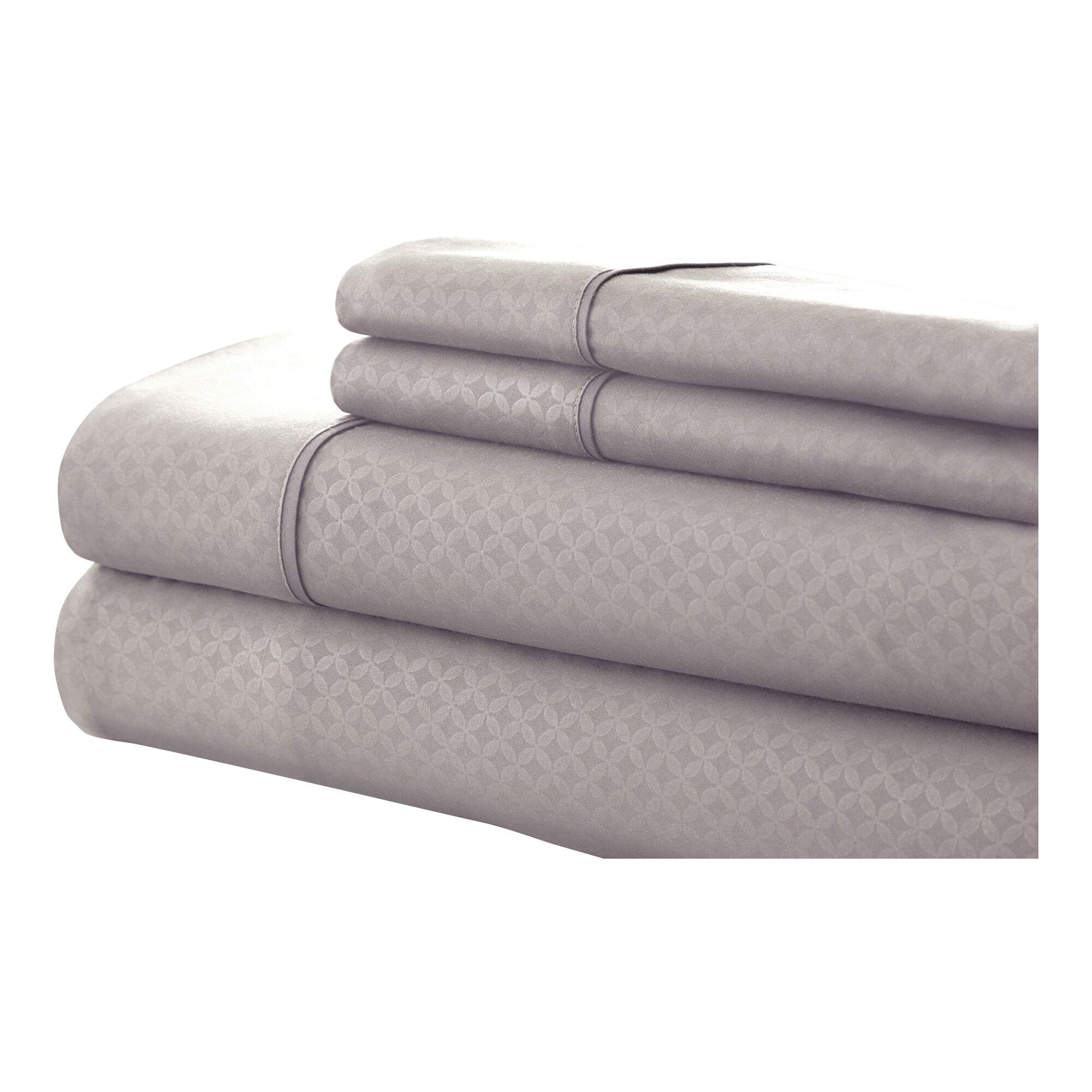 Colonial Textiles SoHo 4 Piece Sheet Set & Reviews   Wayfair