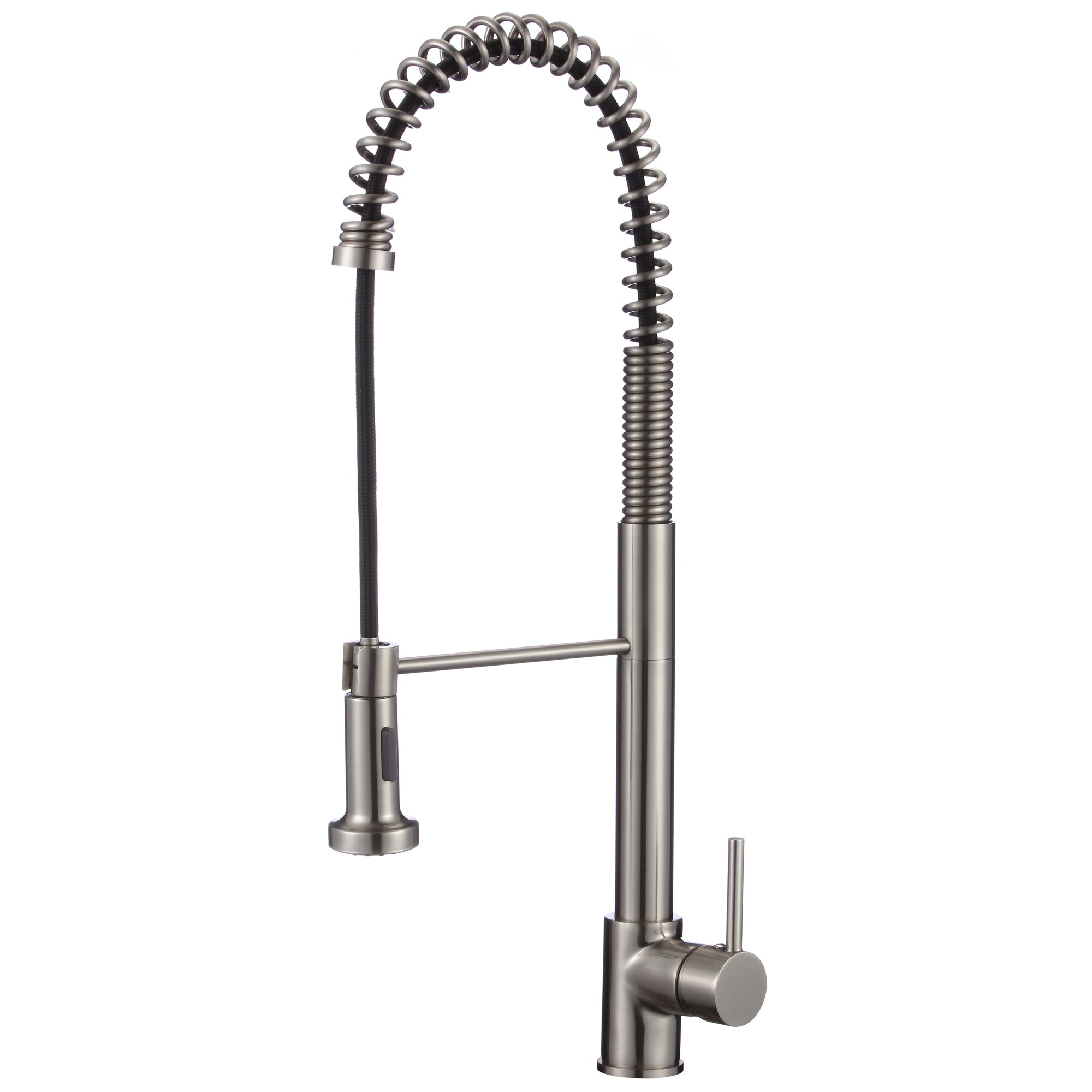 Kitchen Faucets With Pull Out Spray Upscale Designs By Ema Single Handle Deck Mounted Kitchen
