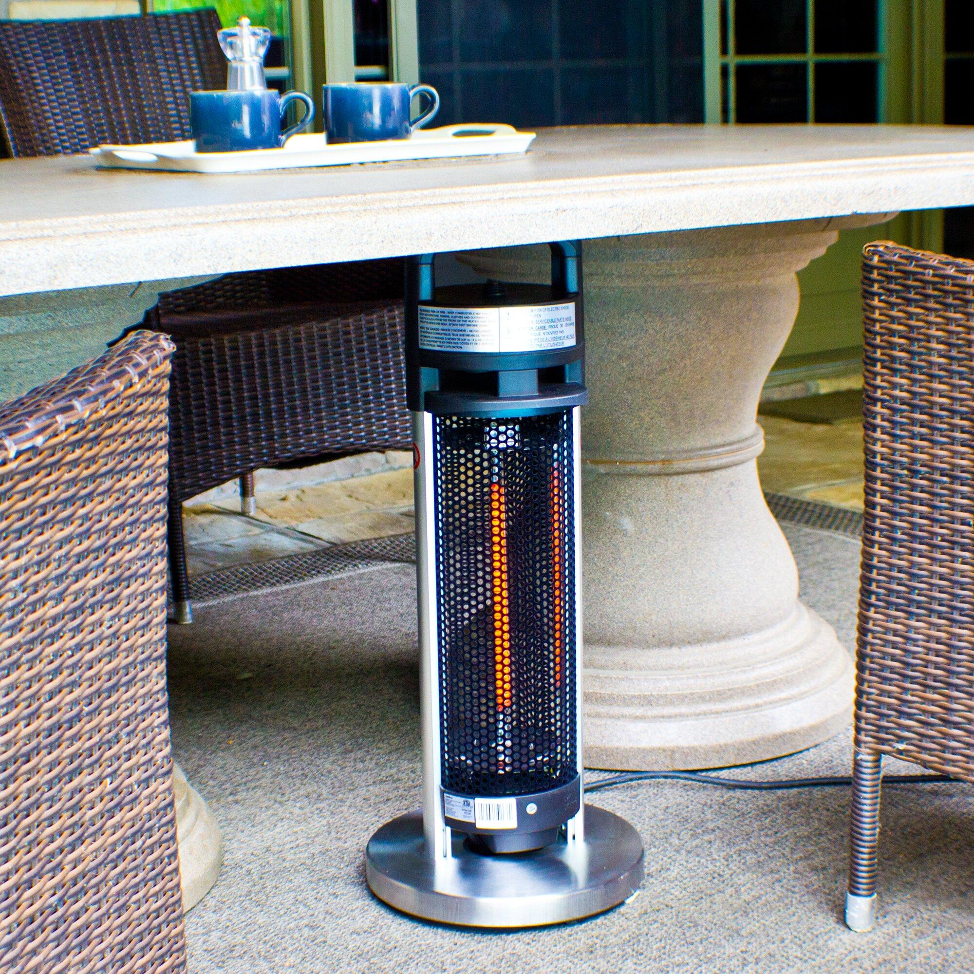 EnerG+ 4 Seasons Infrared 900 Watt Electric Tabletop Patio ...