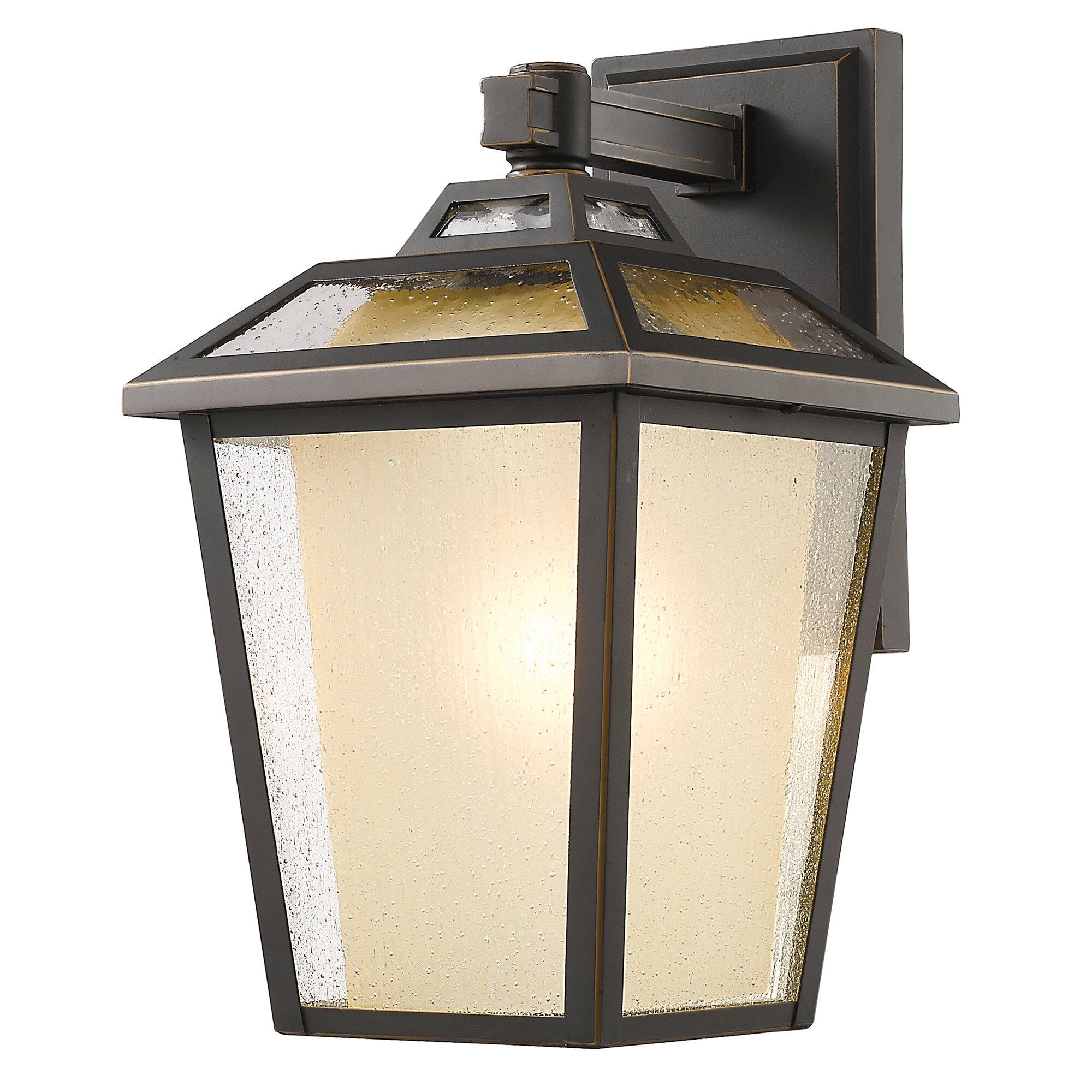 Z-Lite Memphis 1-Light Outdoor Wall Lantern
