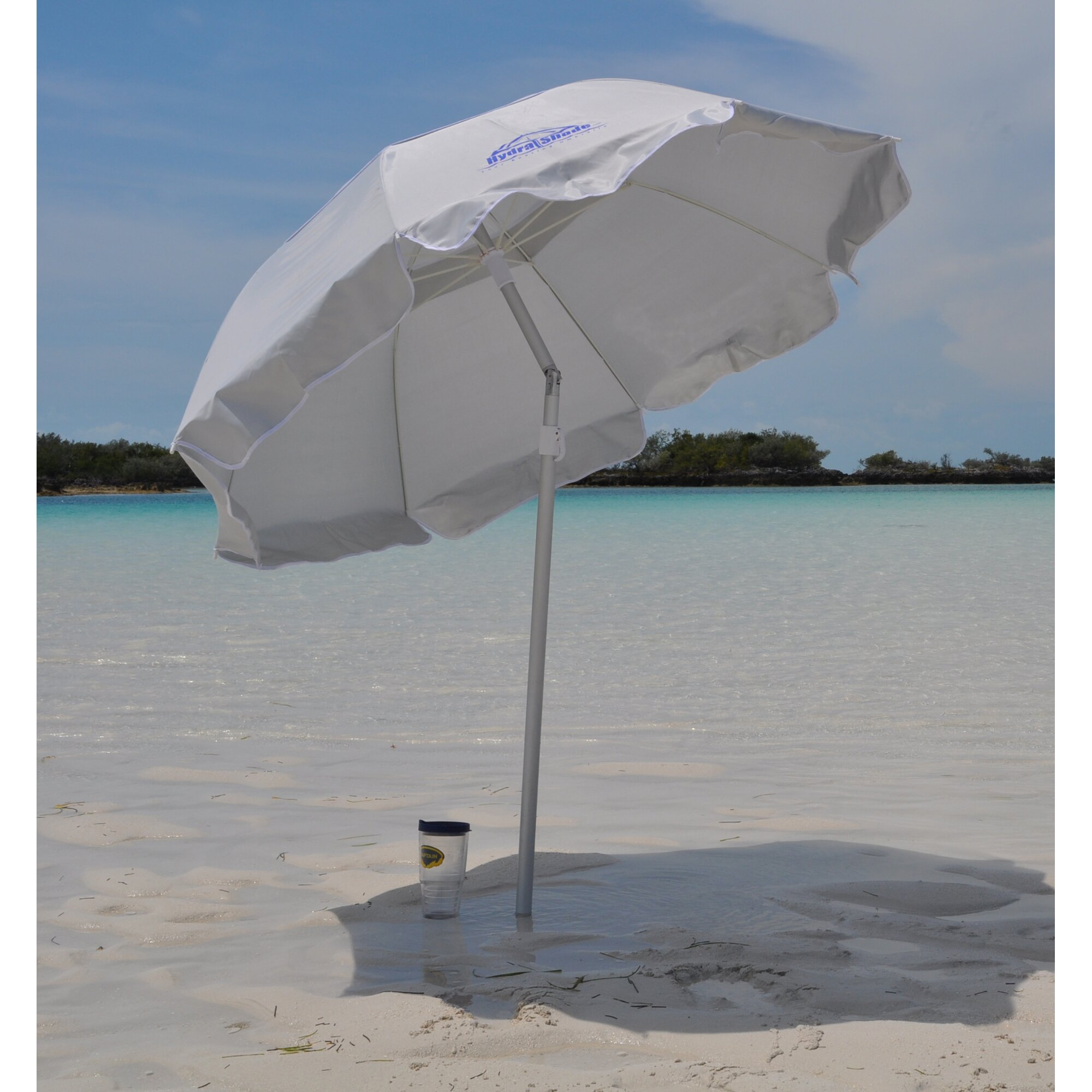 Hydra Shade 6 Beach Umbrella Amp Reviews Wayfair