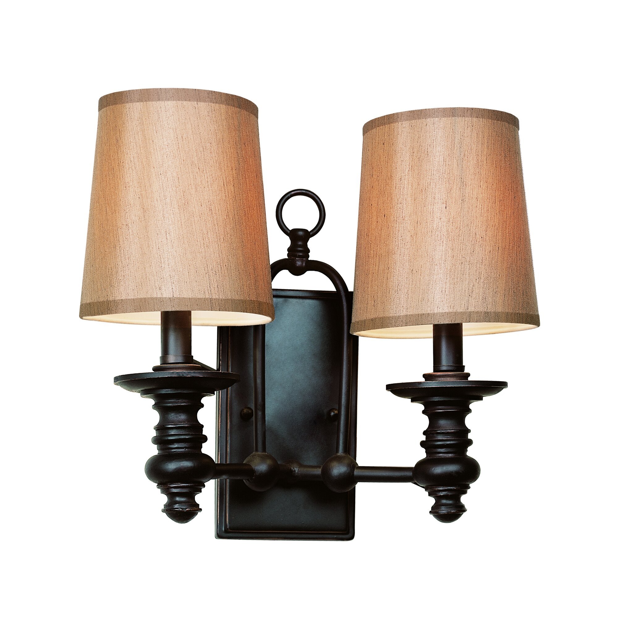Traditional Wall Sconce With Switch : TransGlobe Lighting Modern Meets Traditional 2-Light Wall Sconce & Reviews Wayfair