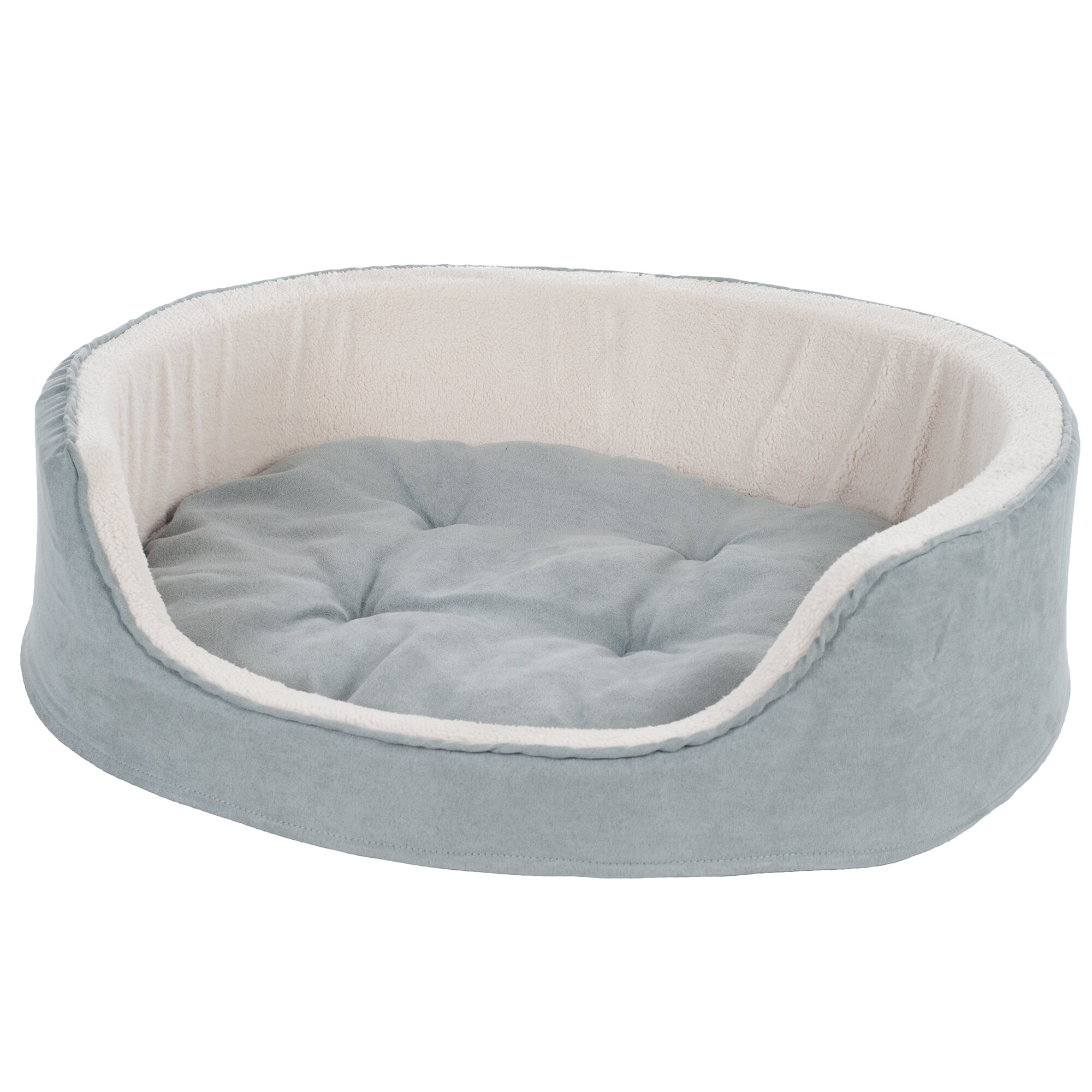 PAW Suede Cuddle Round Pet Bed & Reviews