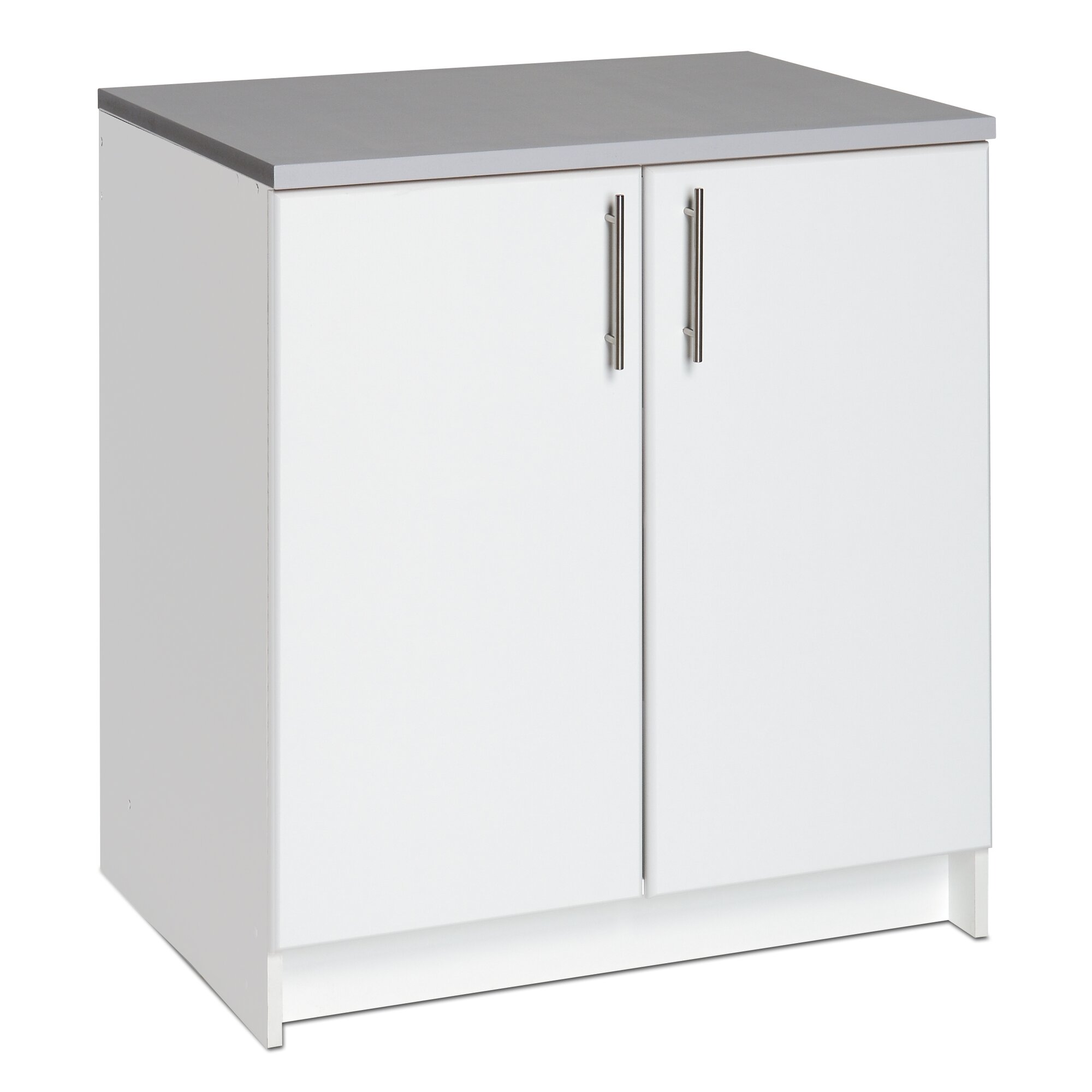 Wayfair basics wayfair basics 36 h x 32 w x 24 d white for Wayfair kitchen cabinets