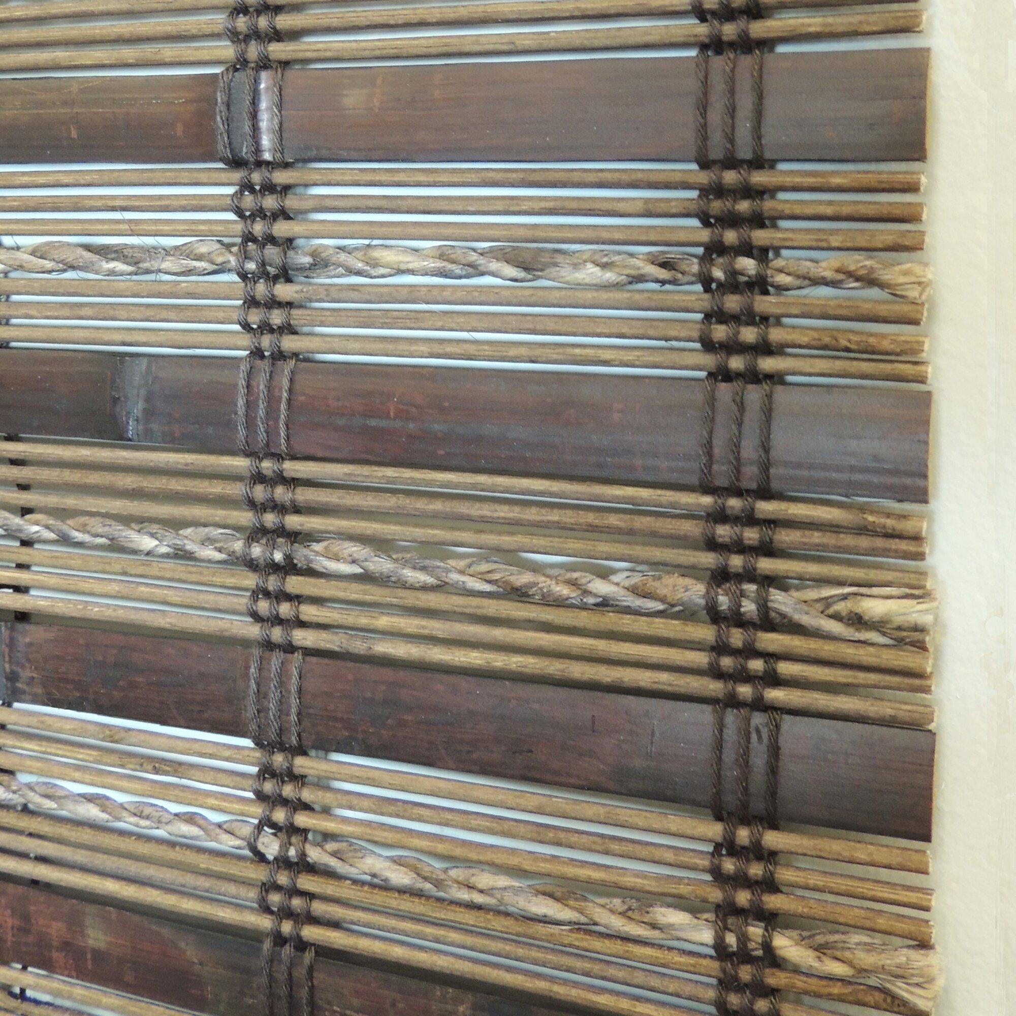 tirado bamboo roman shade - Bamboo Roman Shades