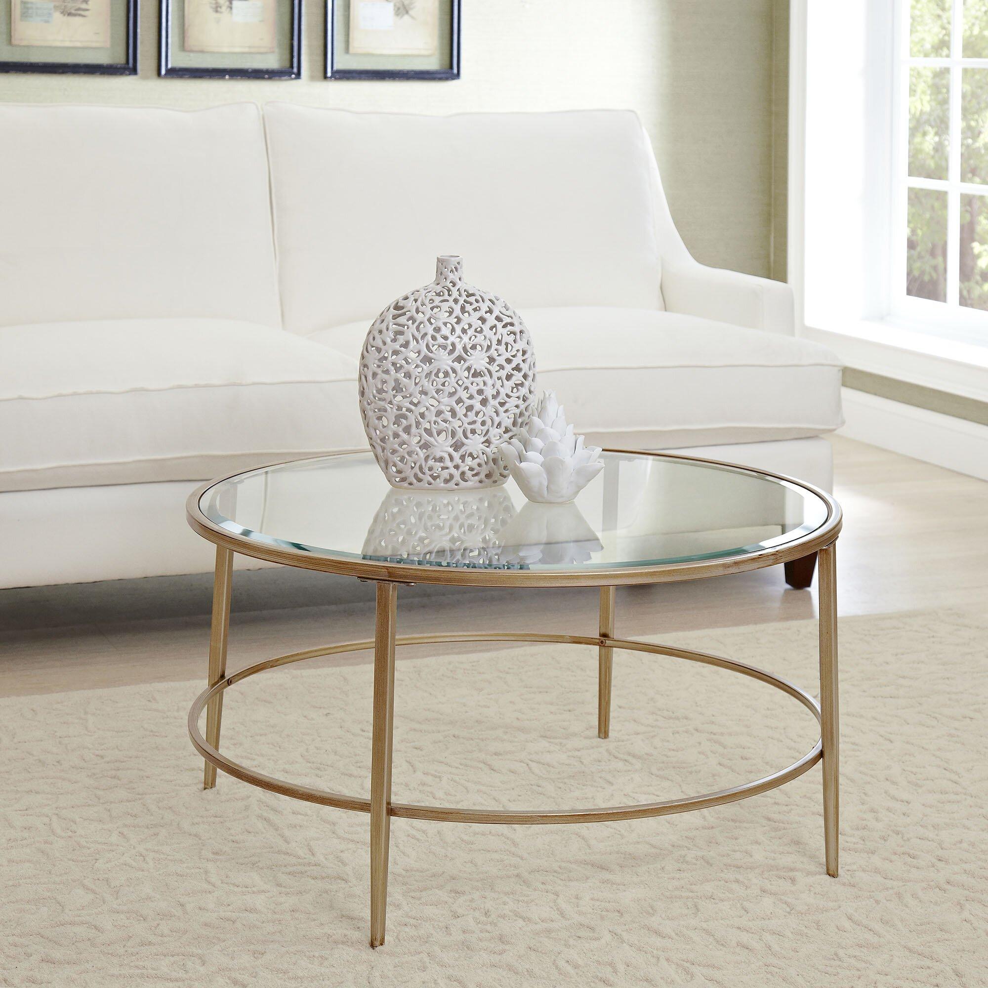 Birch Lane™ Nash Round Coffee Table & Reviews
