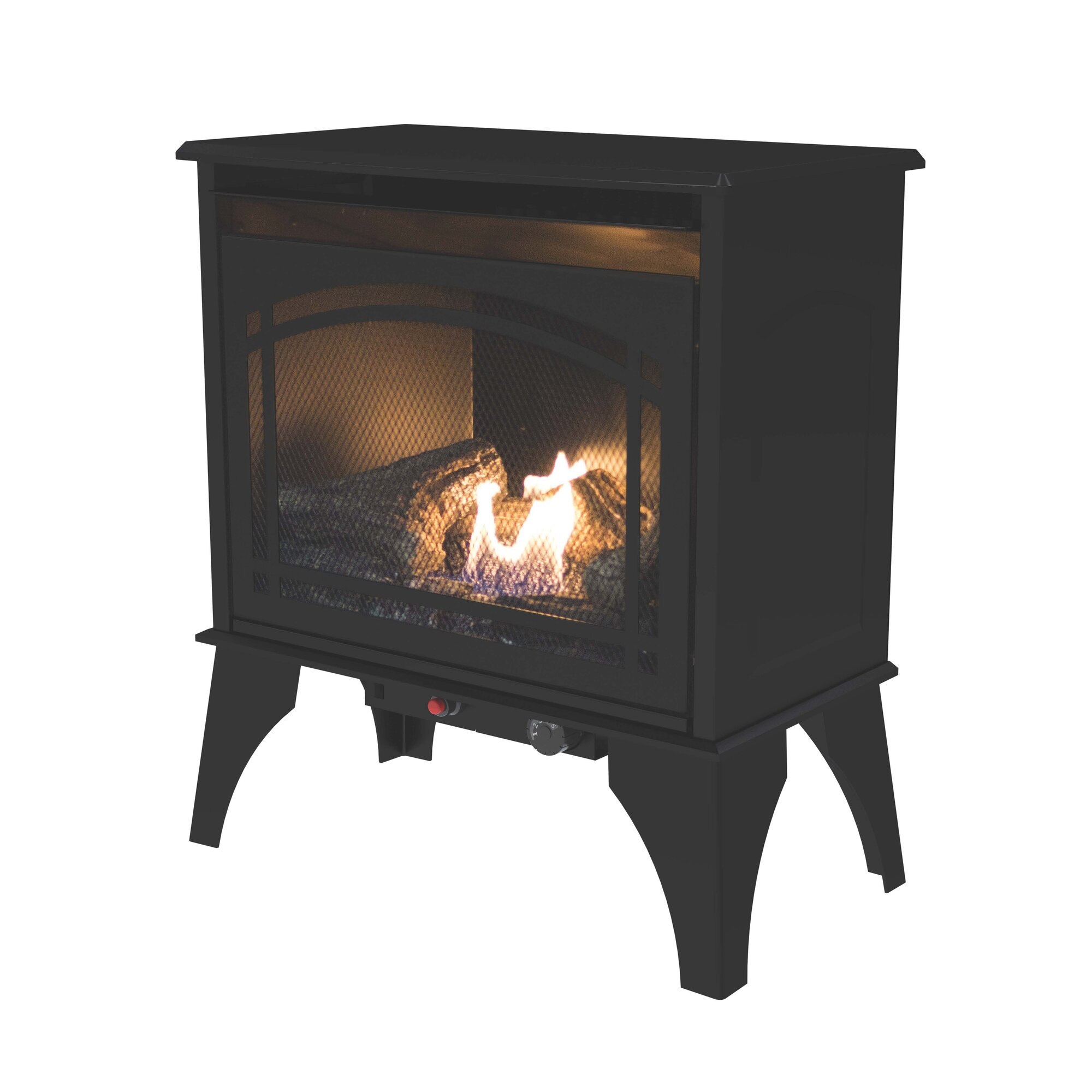 Pleasant Hearth 700 sq. ft. Vent Free Gas Stove & Reviews | Wayfair
