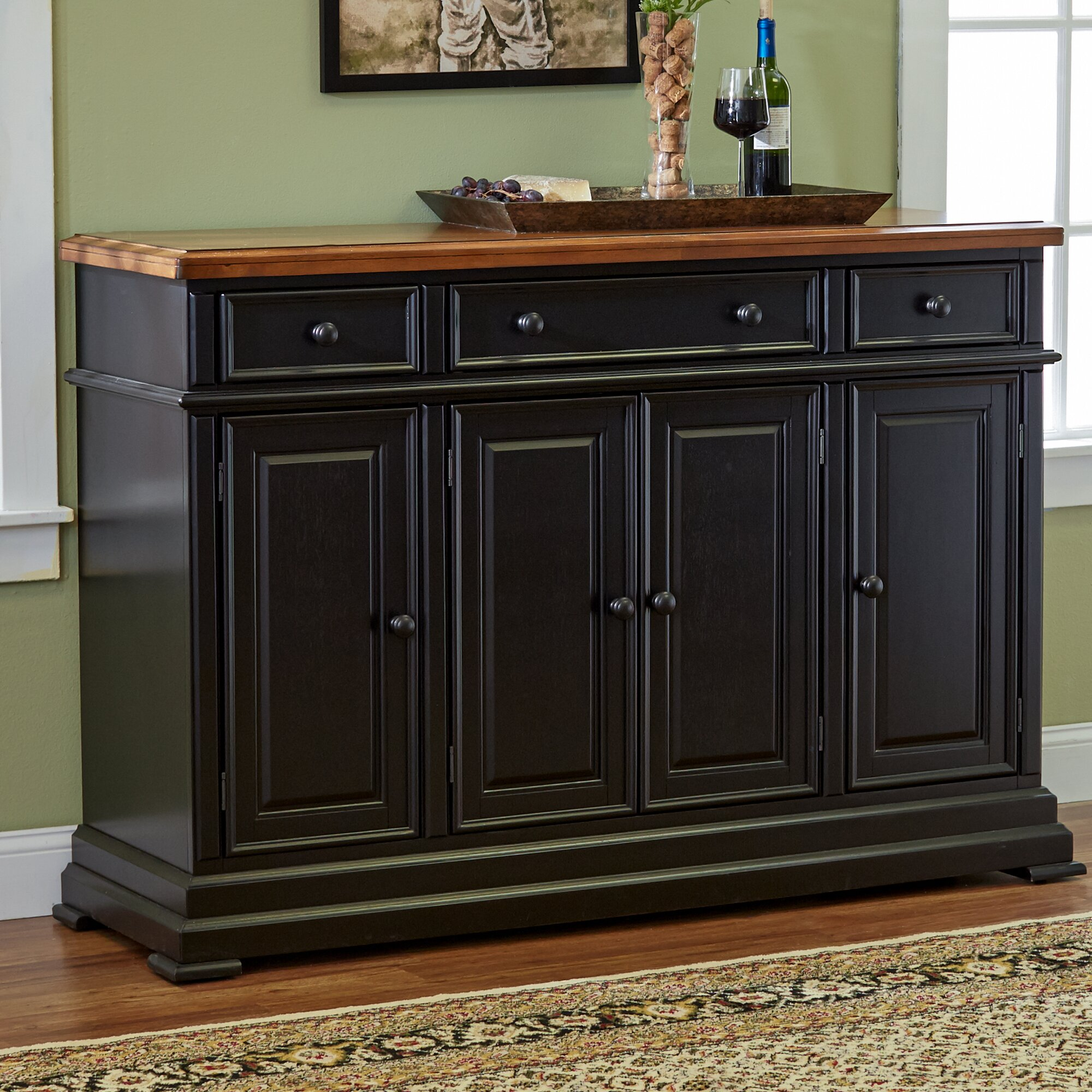 courtdale sideboard - Dining Room Hutch And Buffet
