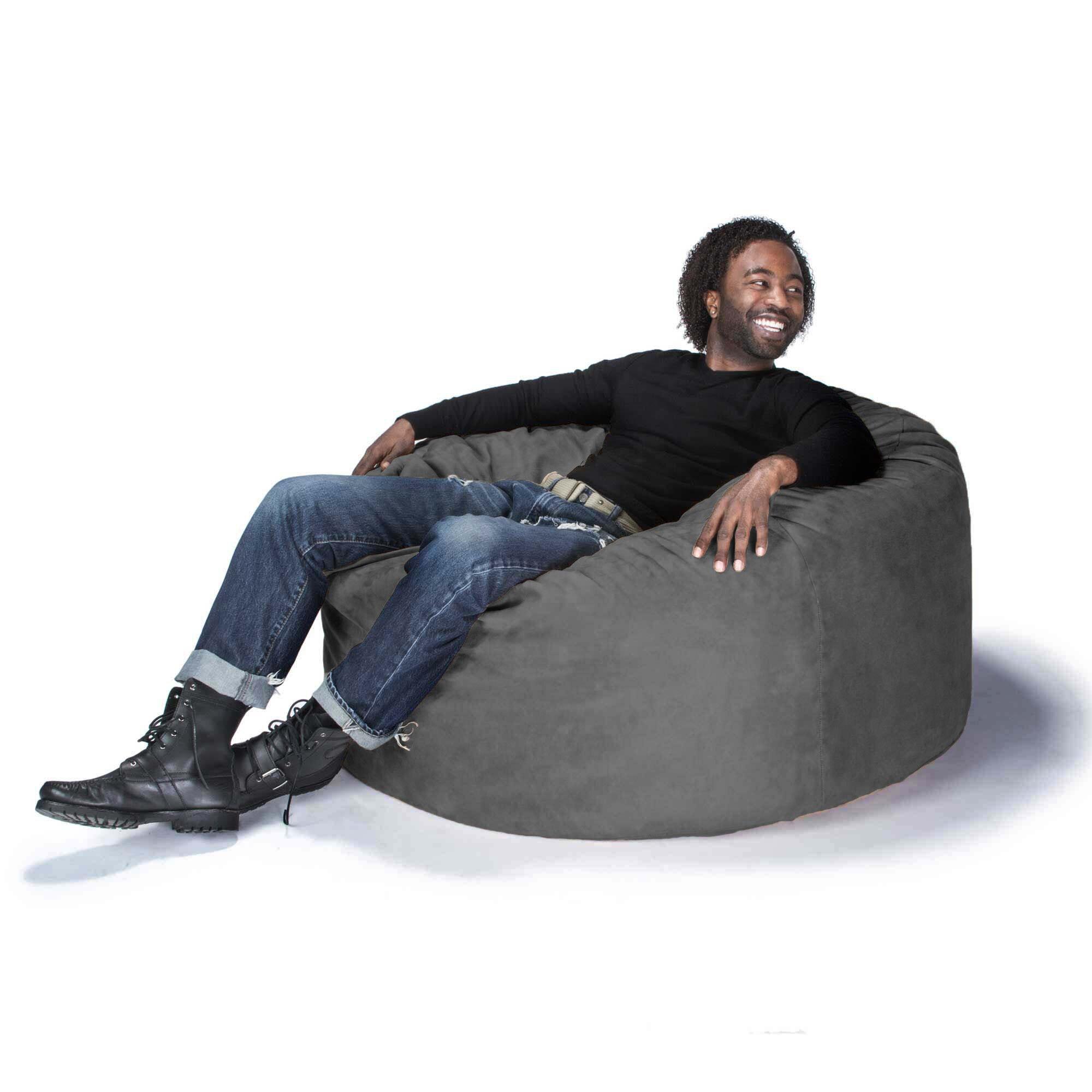 jaxx large bean bag gaming chair reviews. Black Bedroom Furniture Sets. Home Design Ideas