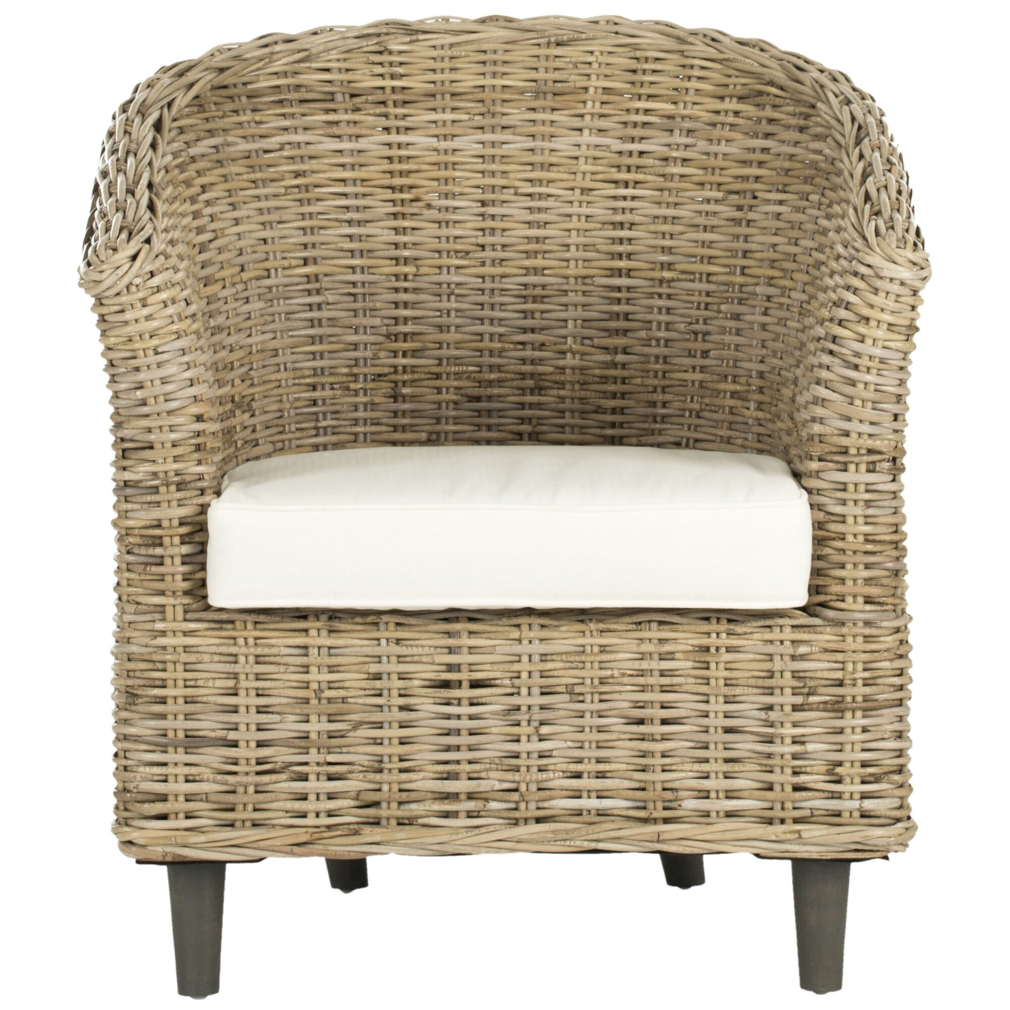Wingback Wicker Chair Fabulous Patio Wicker Wing Back Chair With