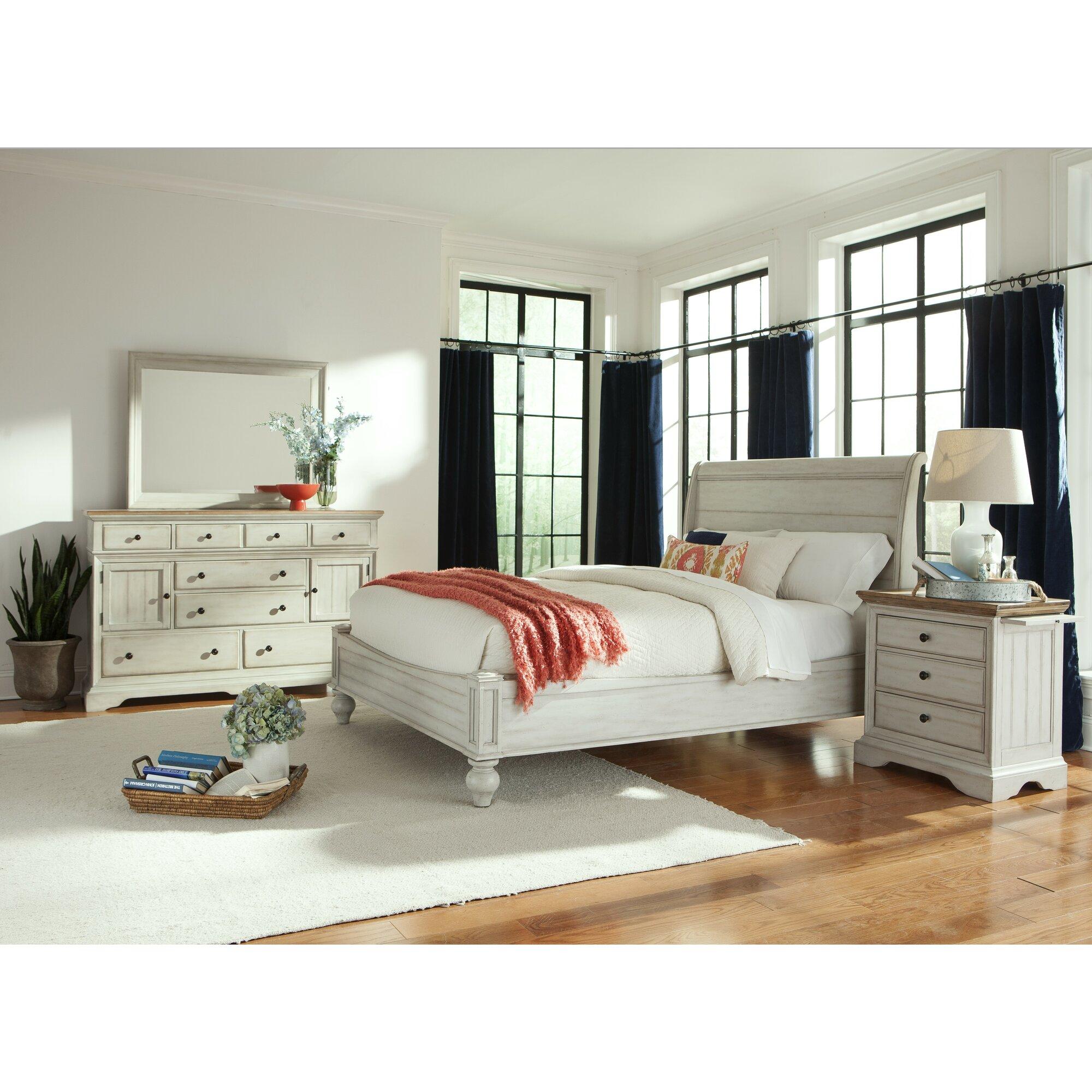 Wayfair Bedroom Furniture: Cresent Furniture Cottage Panel Customizable Bedroom Set