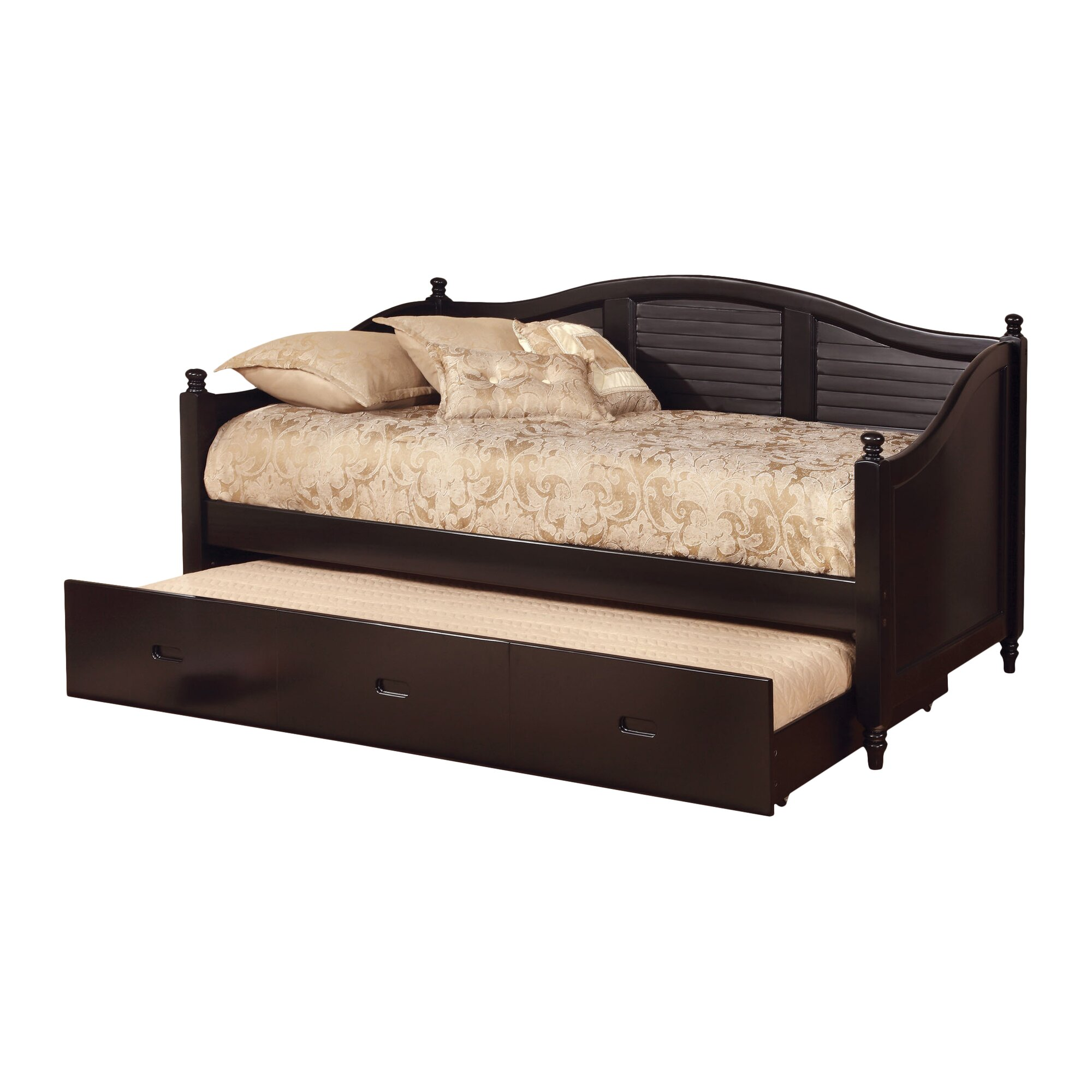 Hokku Designs Sherylle Daybed with Trundle & Reviews | Wayfair