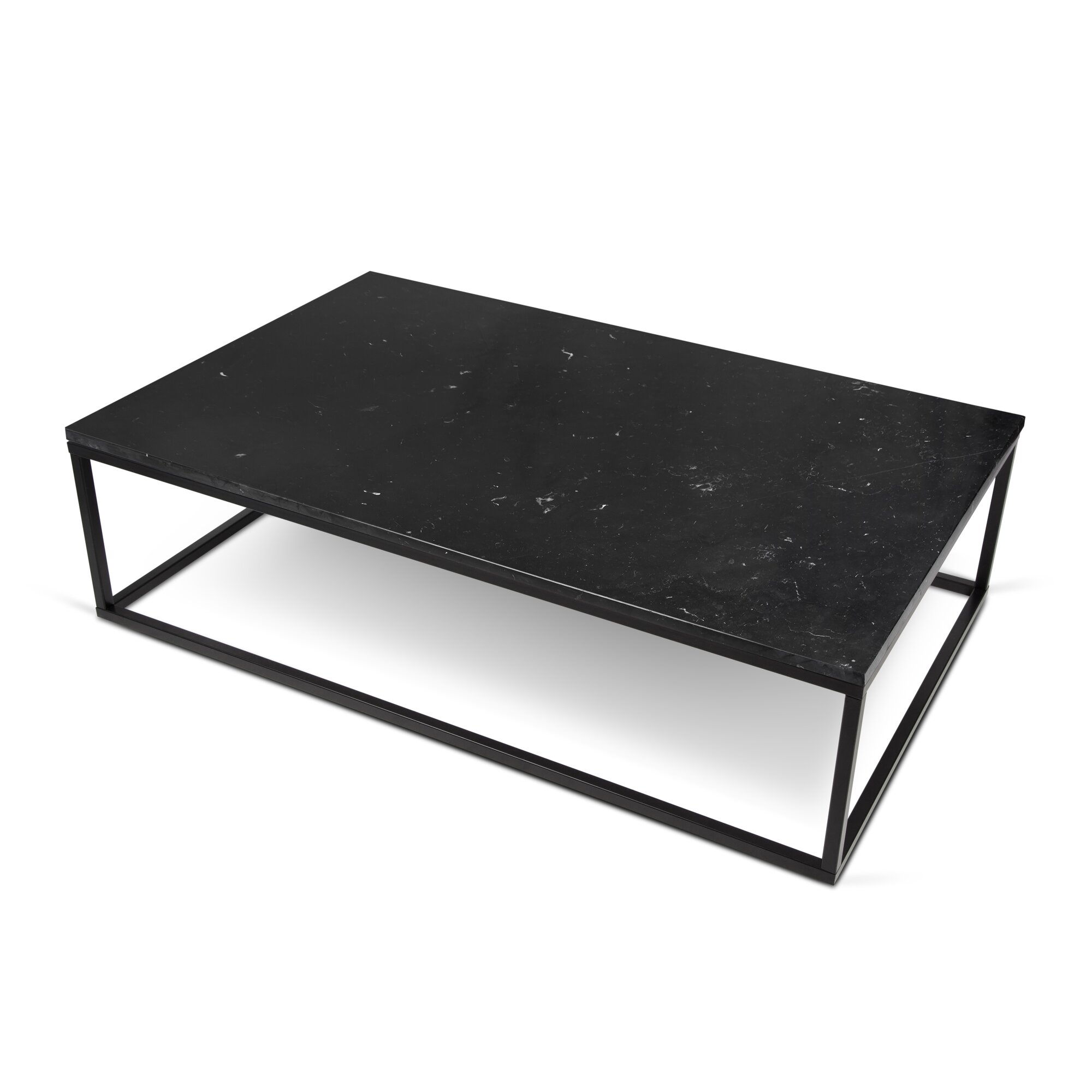 Prairie coffee table reviews allmodern - Table basse rectangulaire noire ...