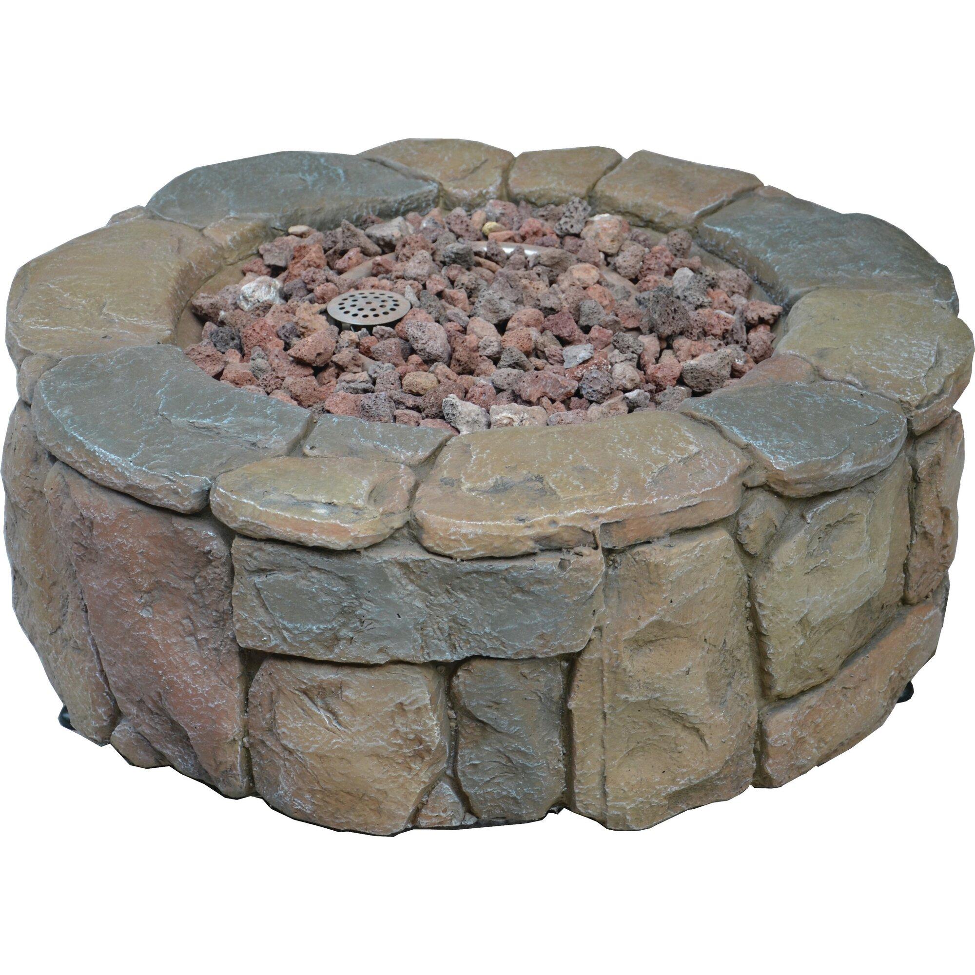 Bond Pinyon Steel Gas Outdoor Fireplace Amp Reviews Wayfair