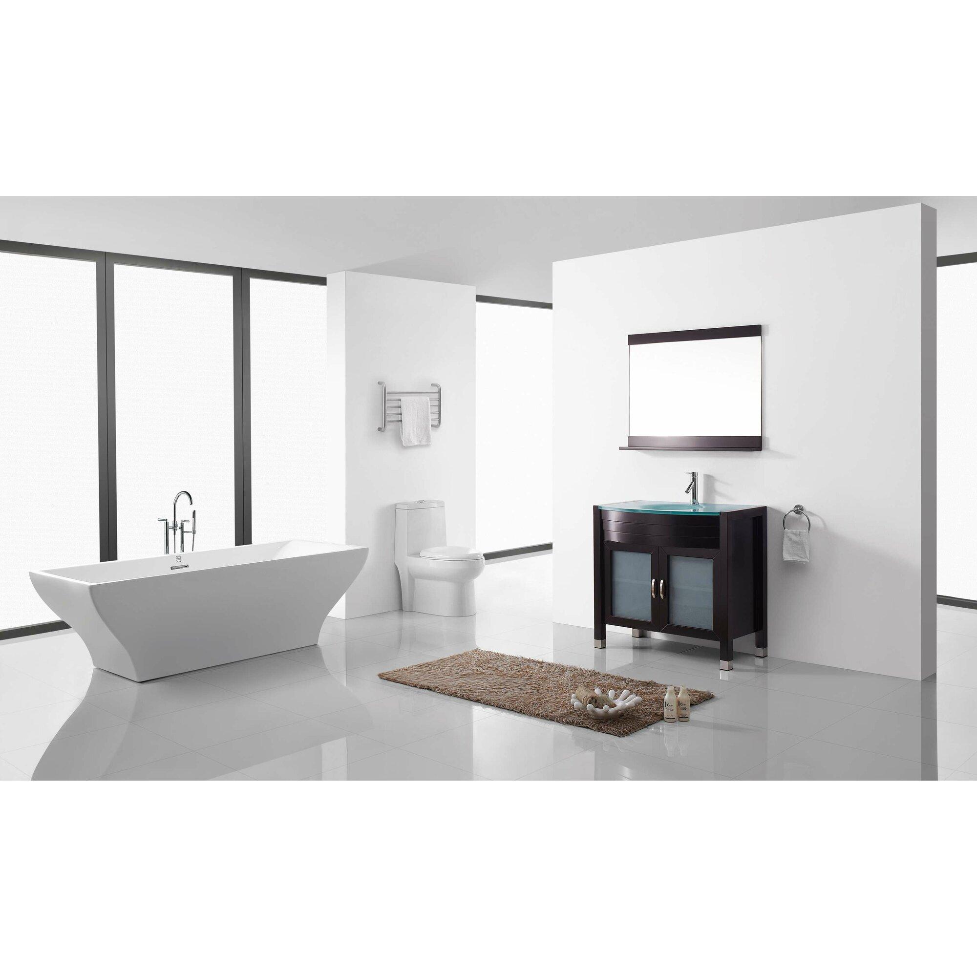 Ultra Modern Series 36 Single Bathroom Vanity Set With