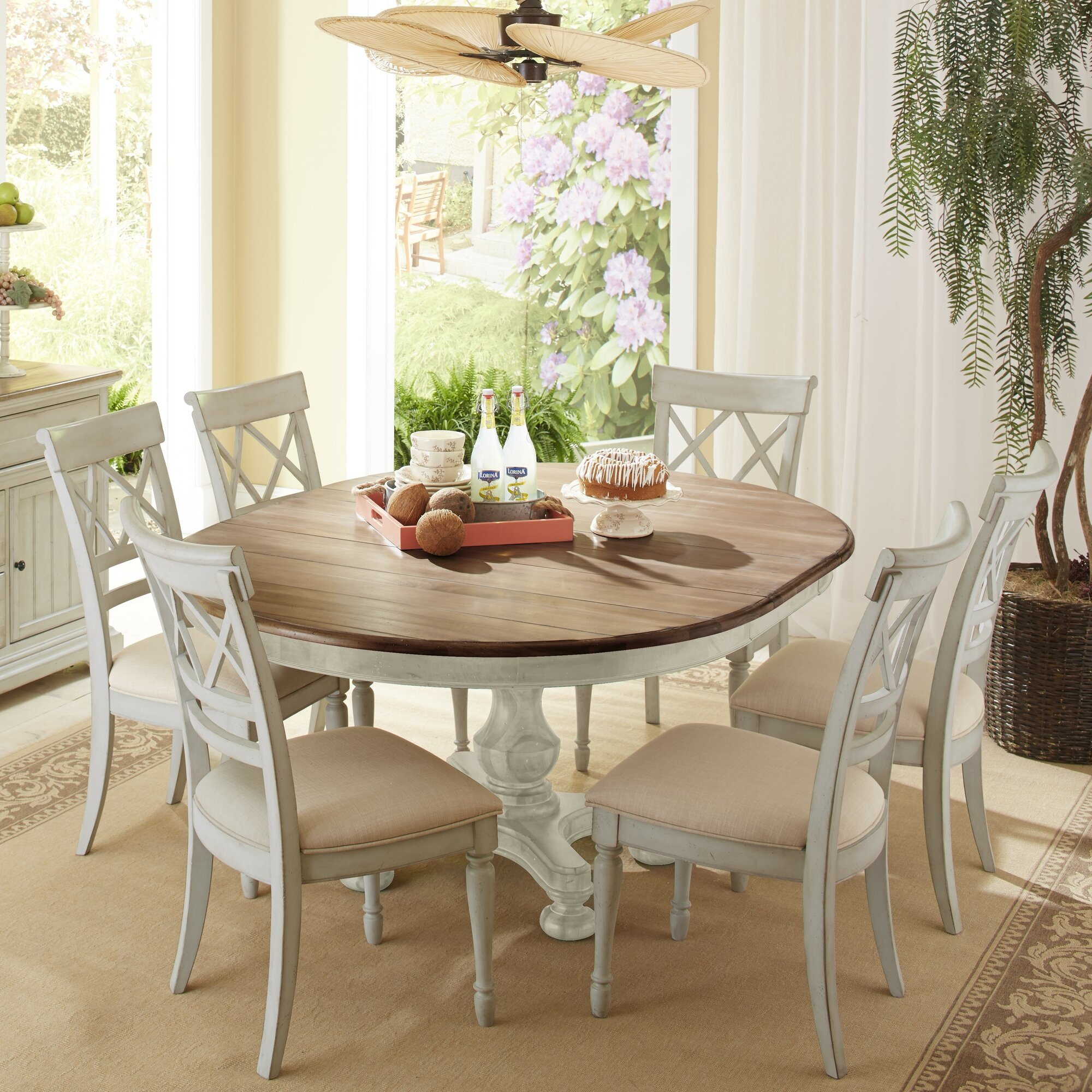 cresent furniture cottage 7 piece dining set reviews