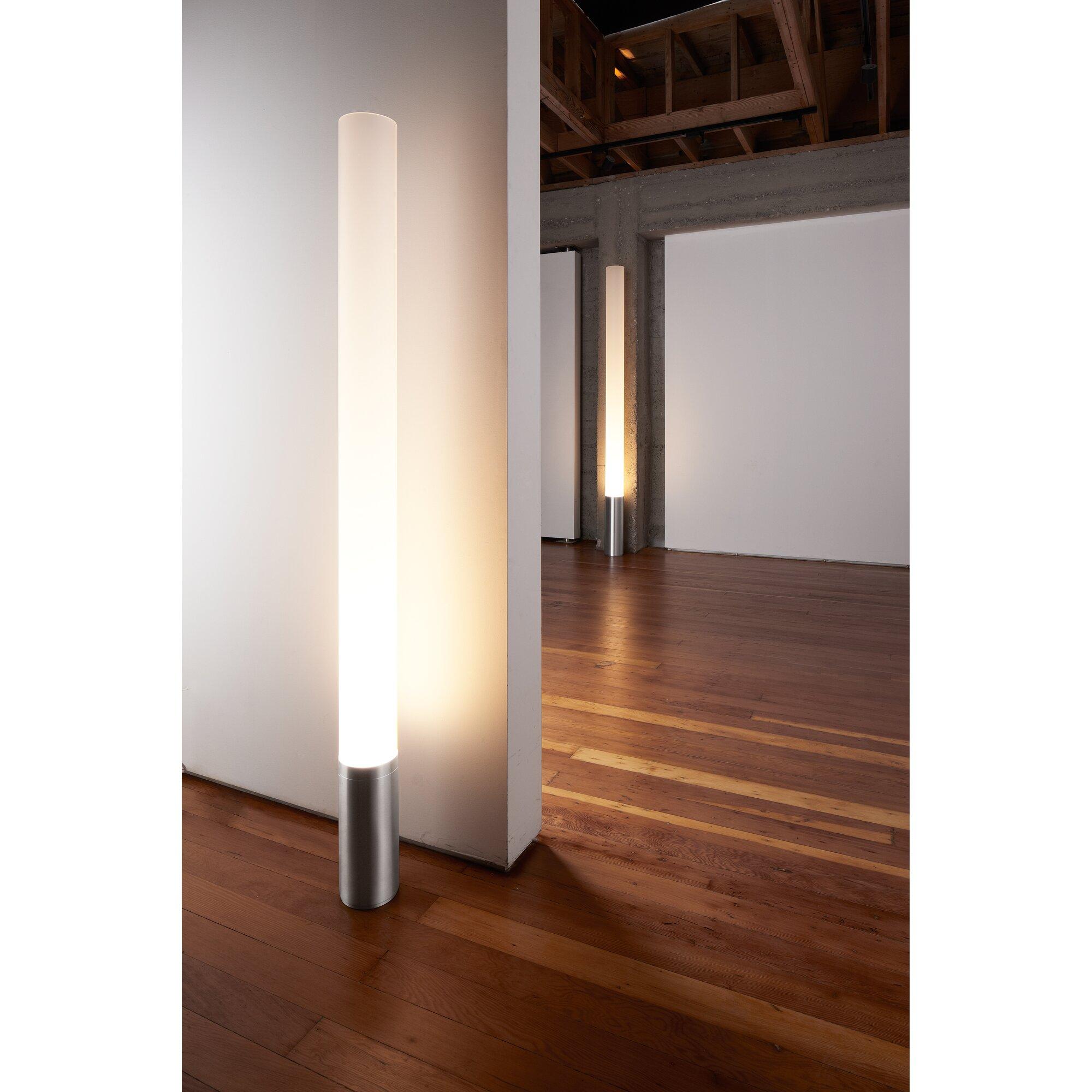 Elise column floor lamp reviews allmodern for Floor pillars