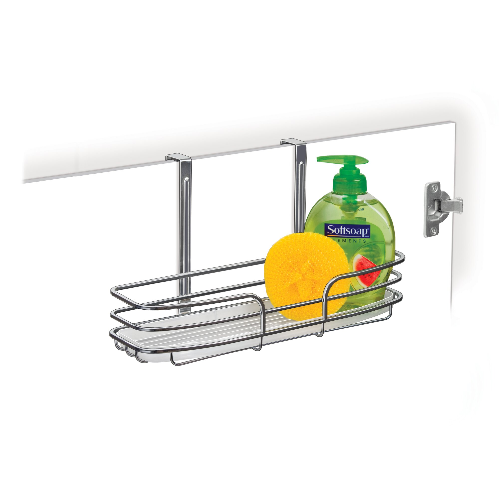 Bathroom cabinet door organizer - Single Over Cabinet Door Organizer