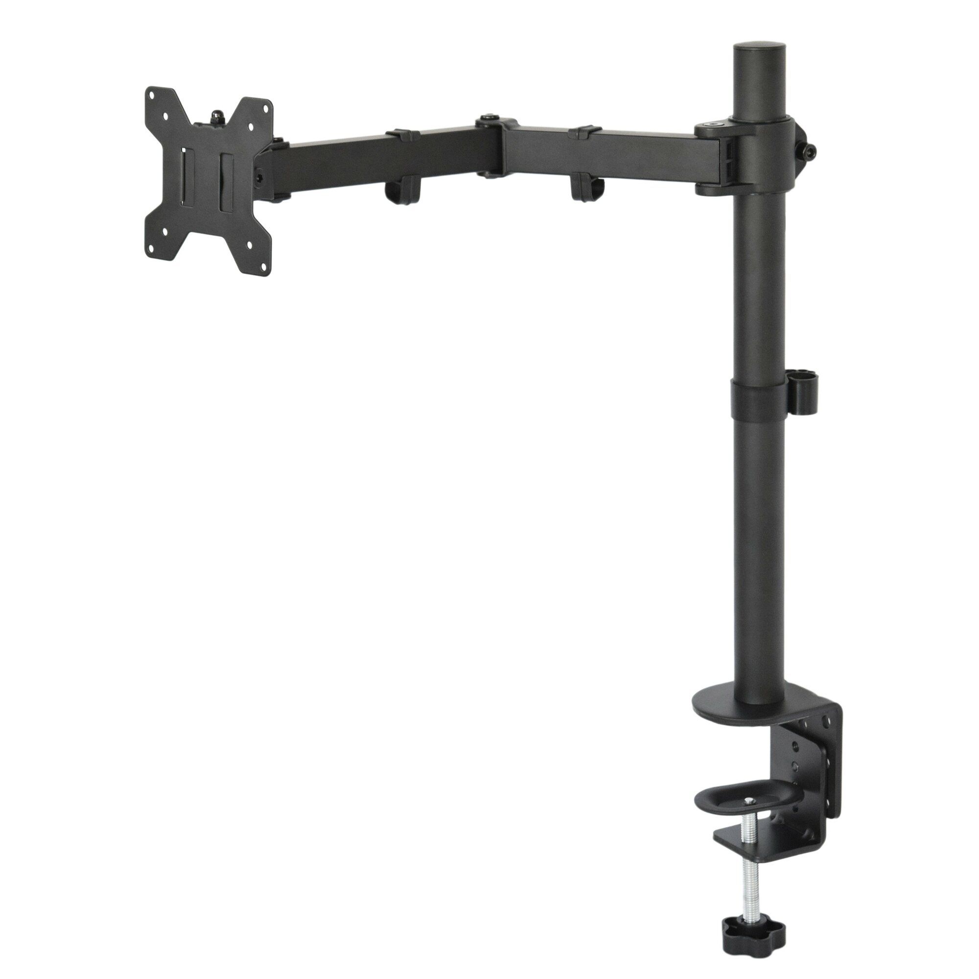 Vivo Single Lcd Monitor Fully Height Adjustable Desk Mount
