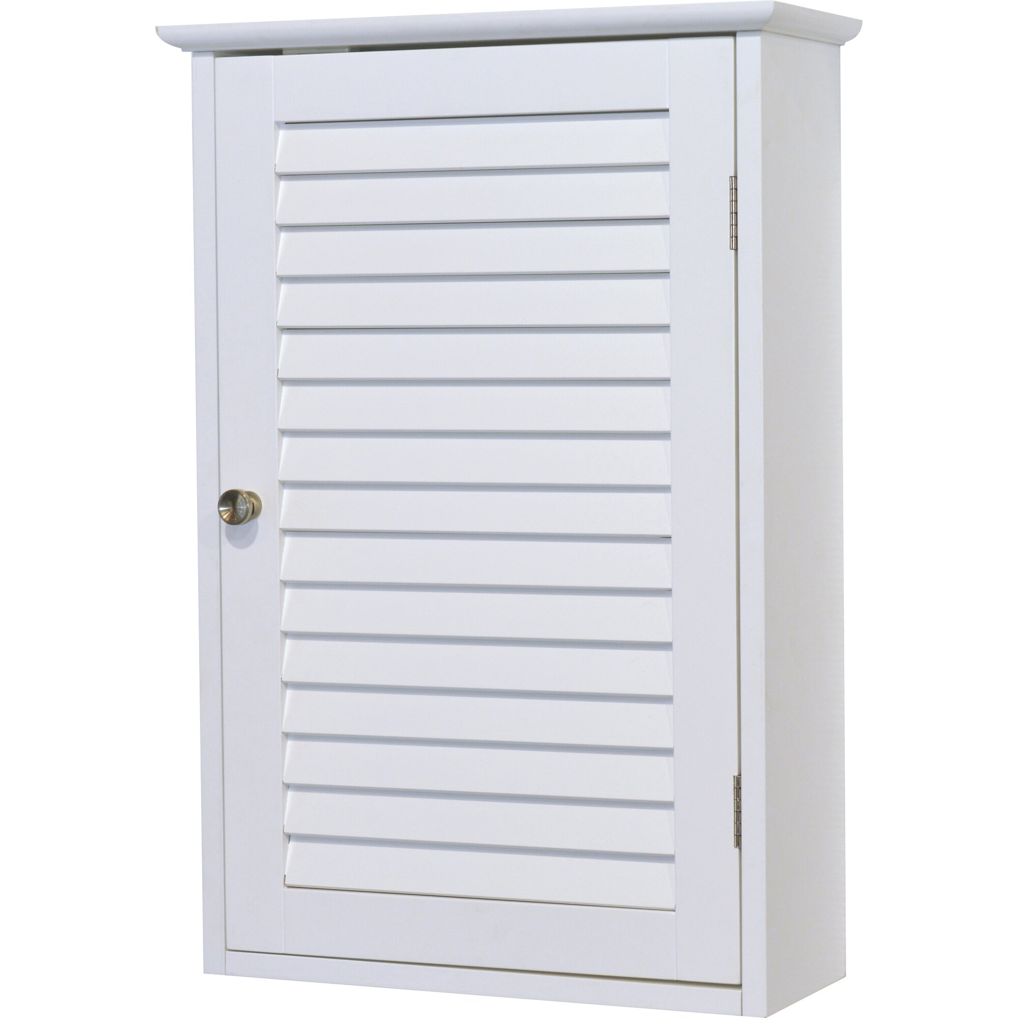 Evideco florence 15 7 w x 24 2 h wall mounted cabinet for Armoire murale cuisine