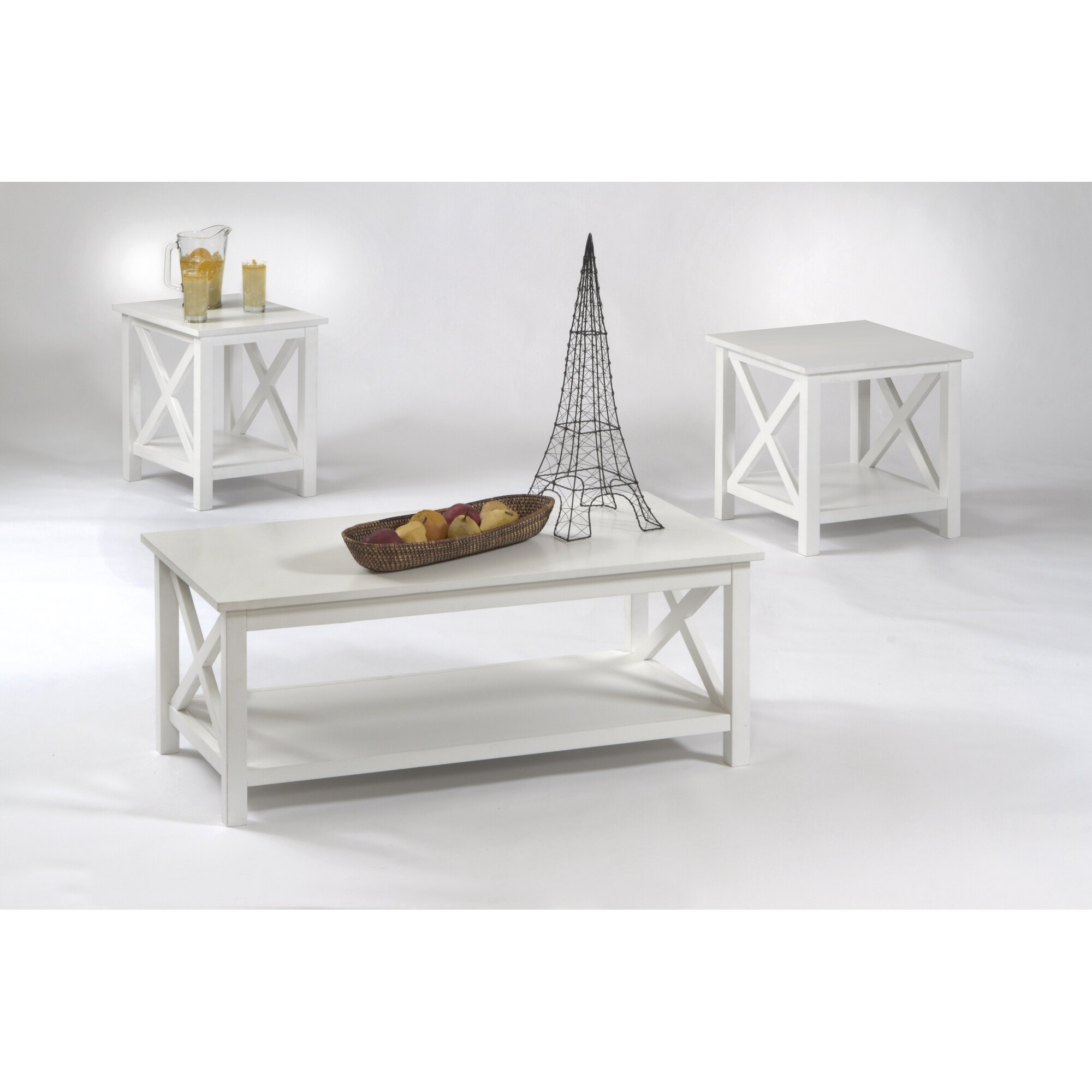 Captivating Beadboard Coffee Table