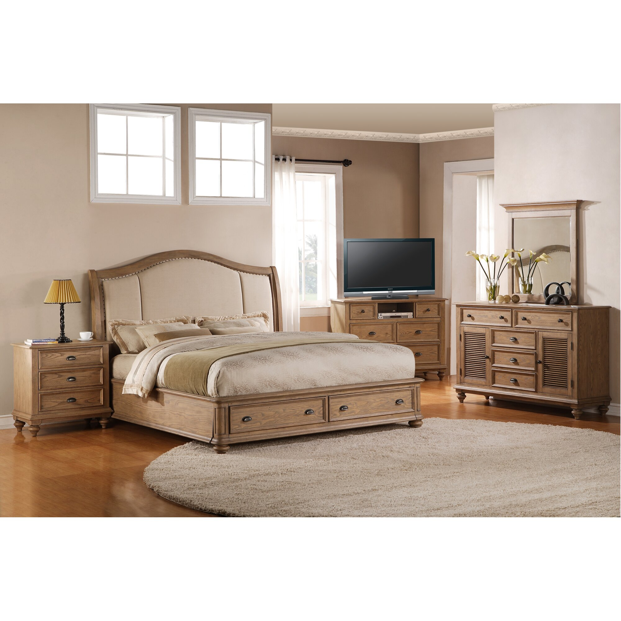 One allium way coolidge panel customizable bedroom set for R way bedroom furniture