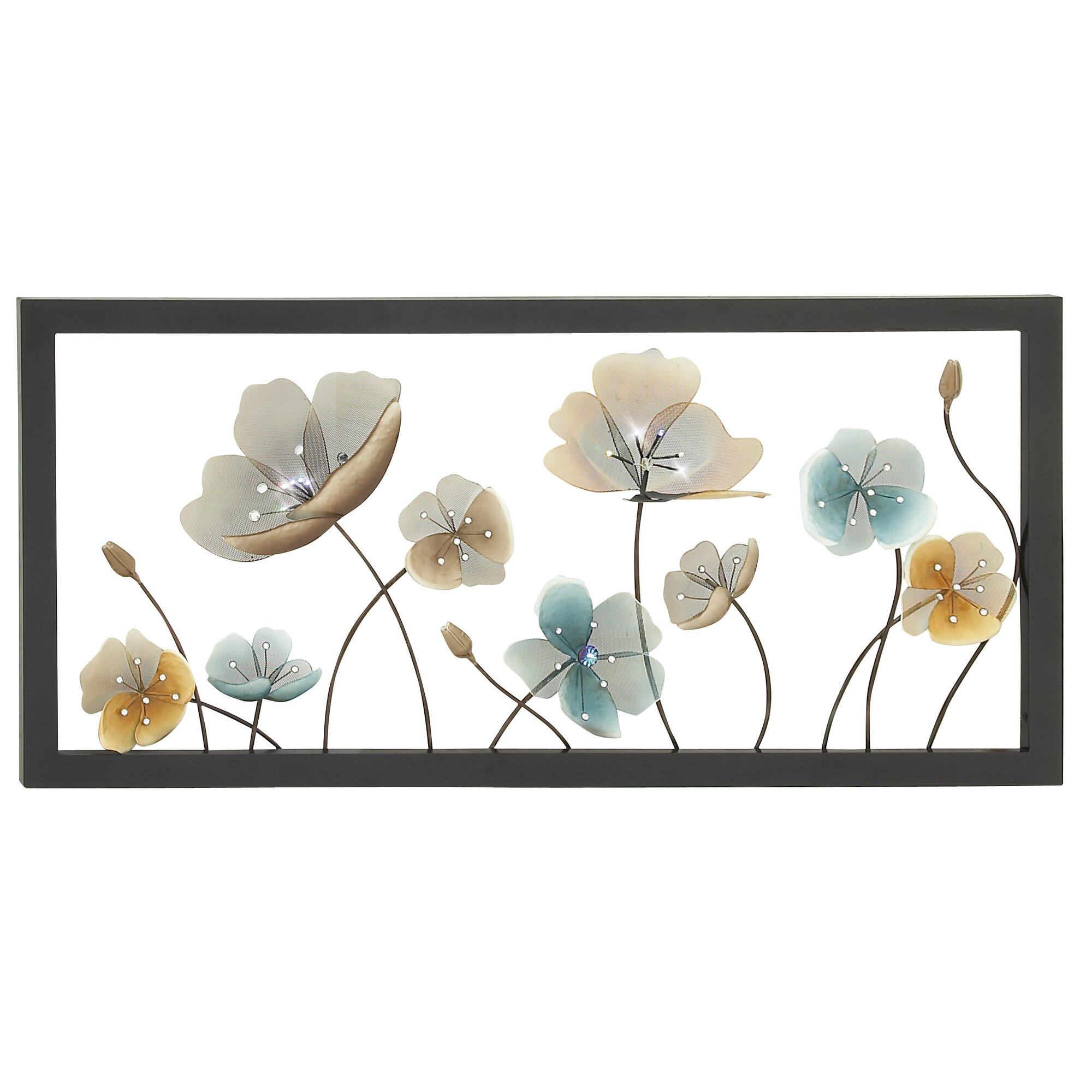 Wall Decor Horizontal : Darby home co horizontal frame led wall d?cor reviews