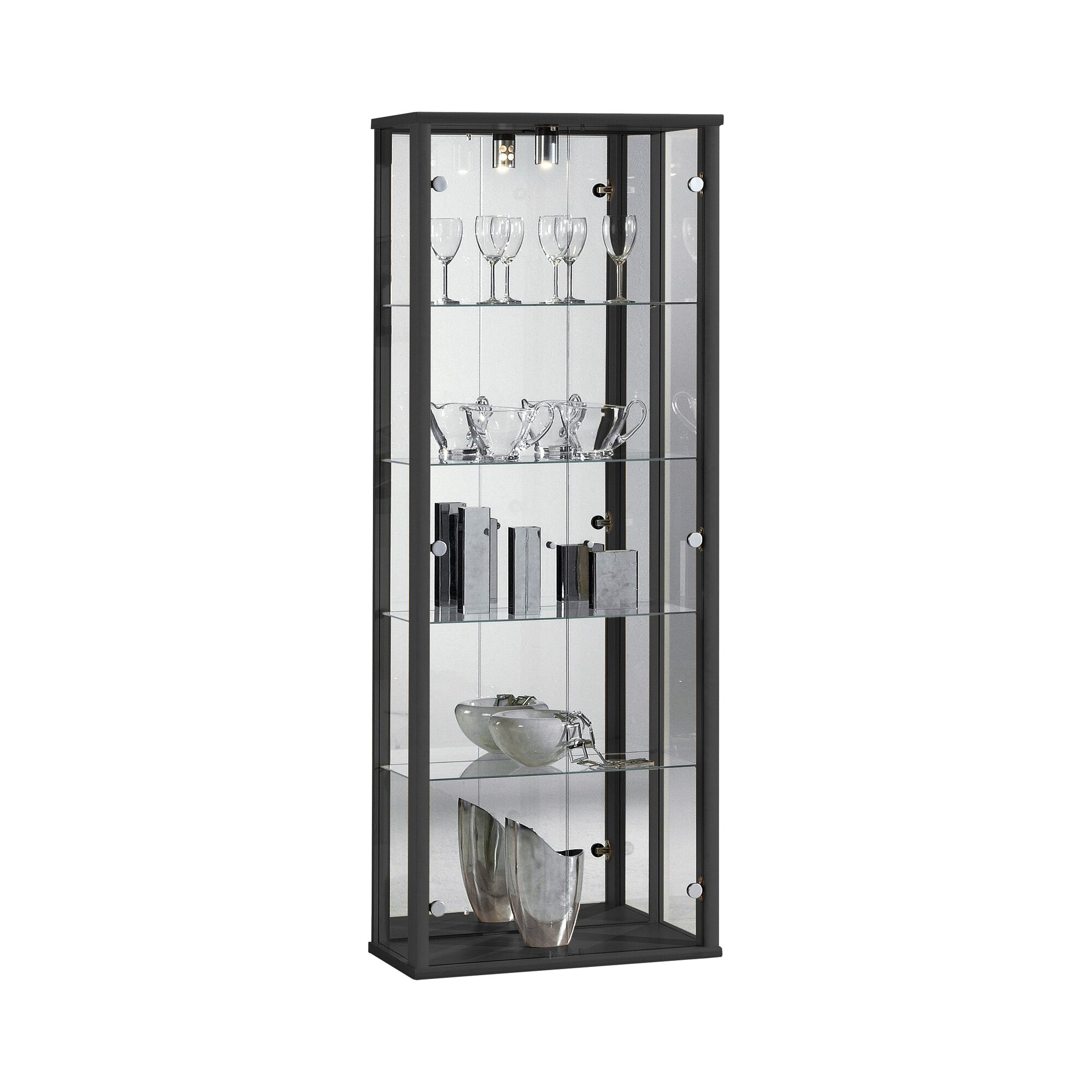 Glass bedroom cabinets