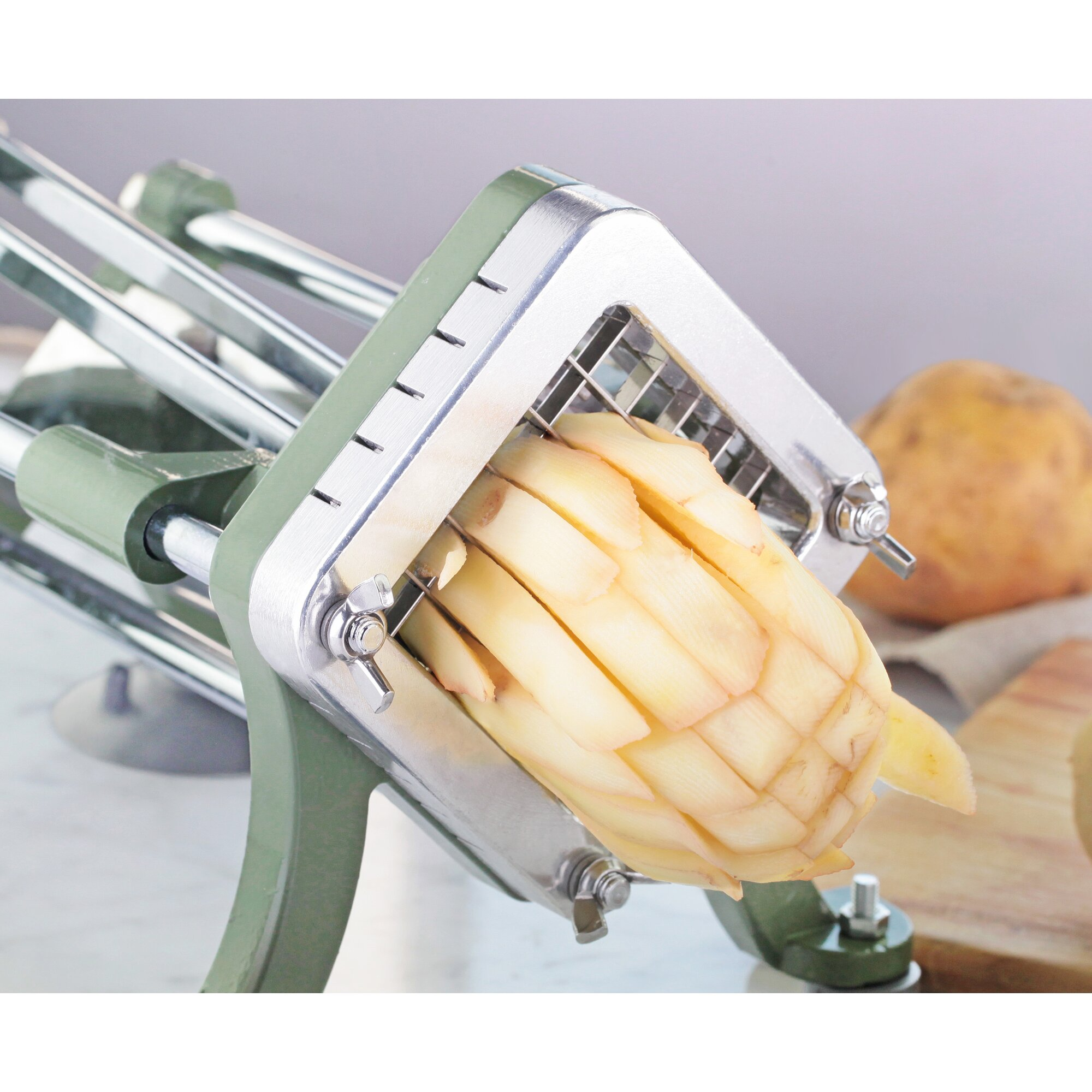 New Star Foodservice Commercial Grade French Fry Cutter