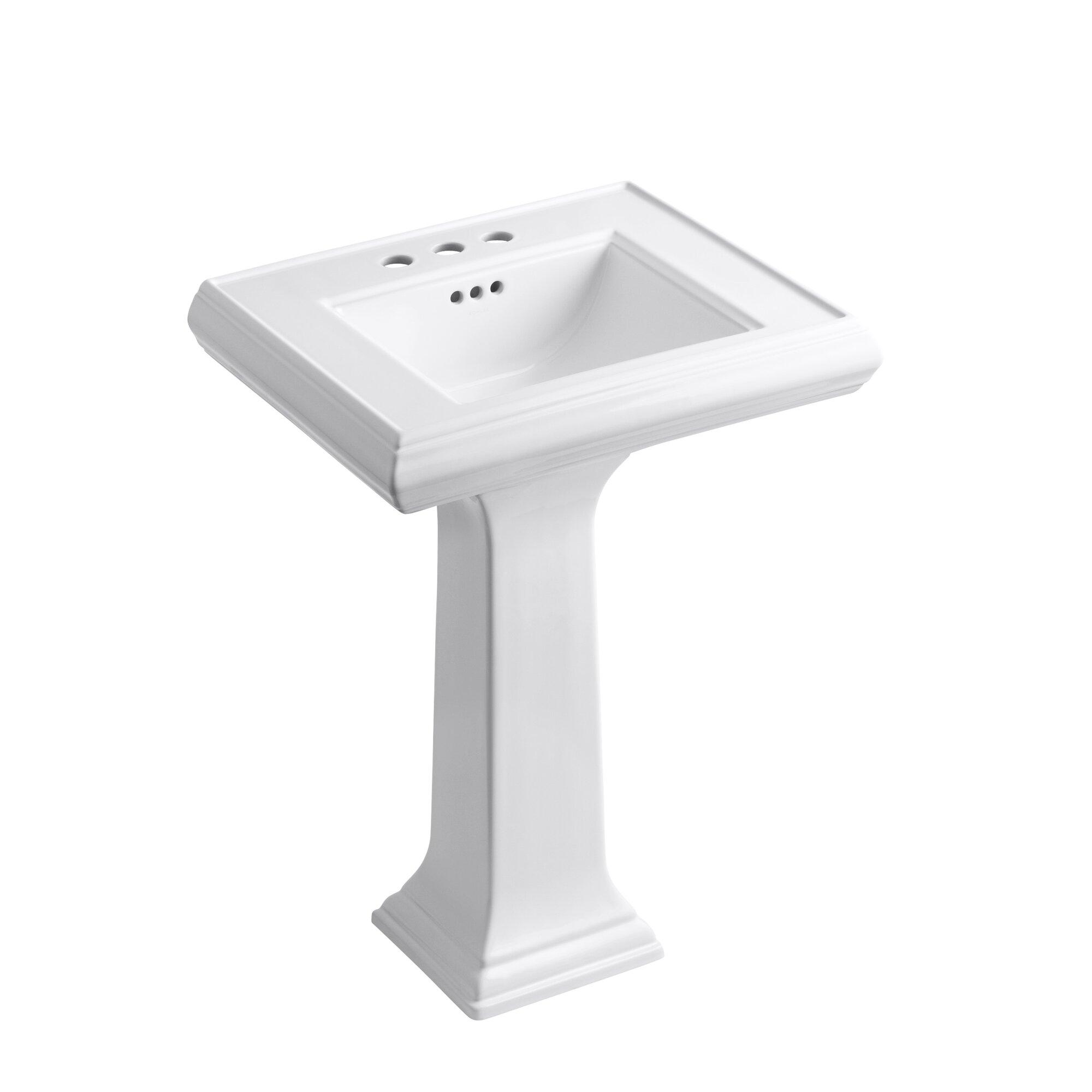 Kohler Memoirs 24 Wall Mount Bathroom Sink Reviews Wayfair