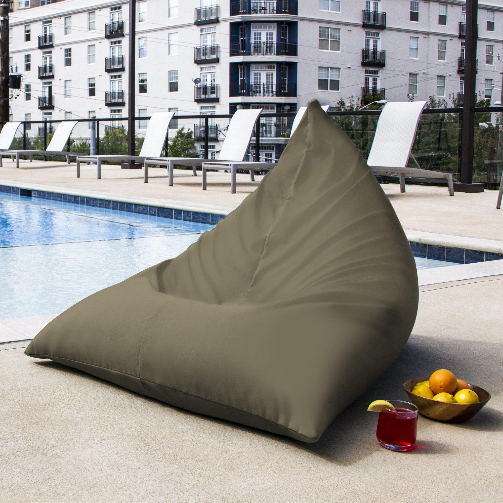 Outdoor bag chairs - Jaxx Twist Outdoor Bean Bag Chair Reviews Wayfair