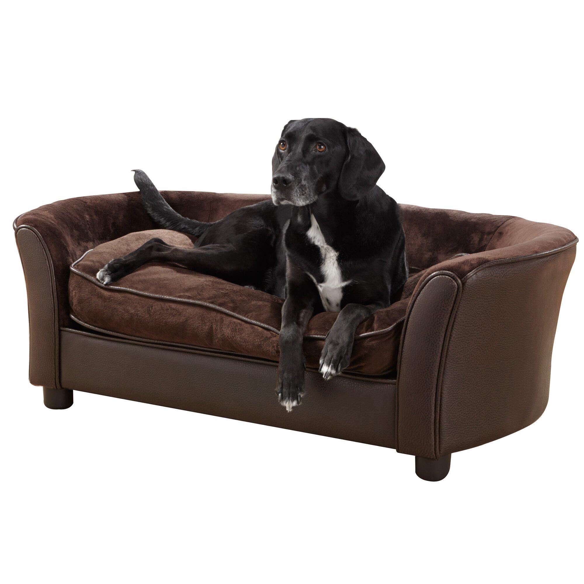 Enchanted Home Pet Panache Dog Sofa Amp Reviews Wayfair