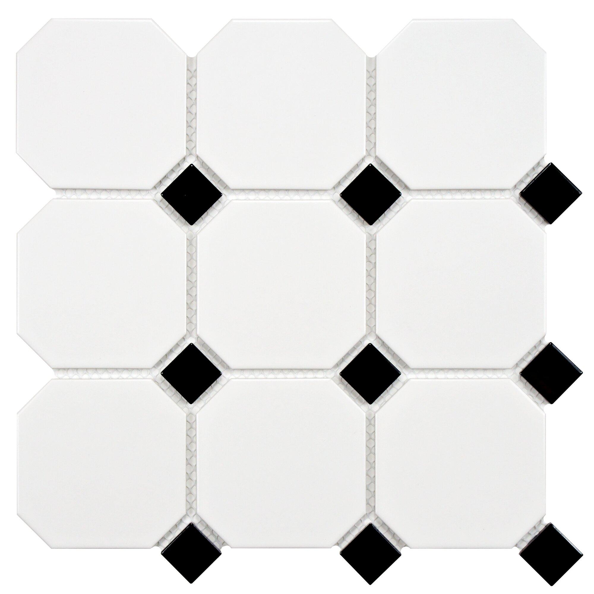 Elitetile Retro Super Octagon 11 625 Quot X 11 625 Quot Porcelain