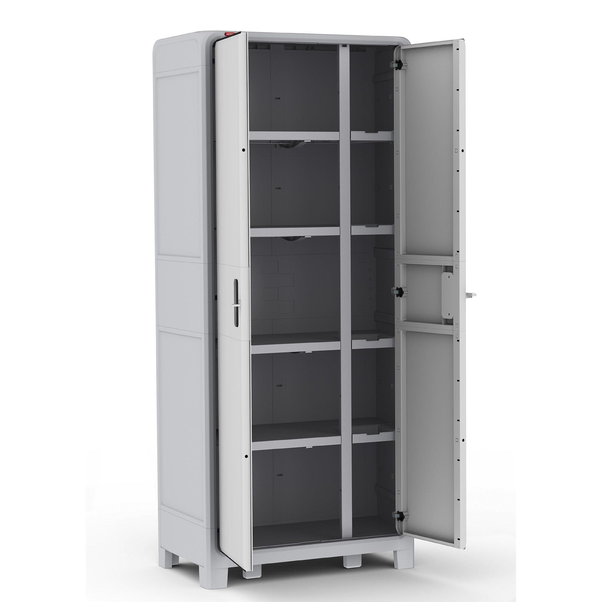 Optima Wonder Plastic 72 H x 31 W x 18 D Storage Cabinet – Locker Storage Cabinet