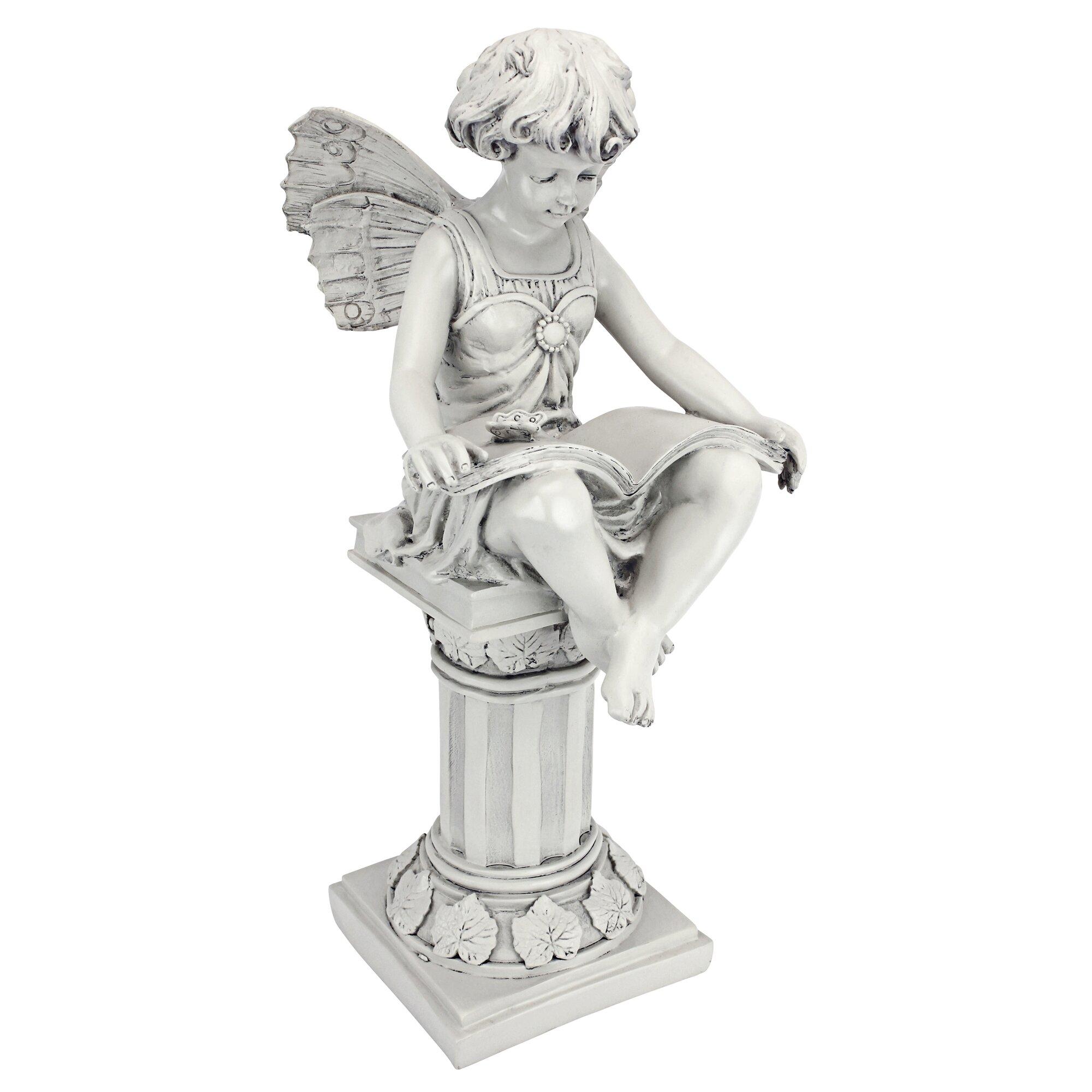 Fairy lawn ornaments - The British Reading Fairy Statue