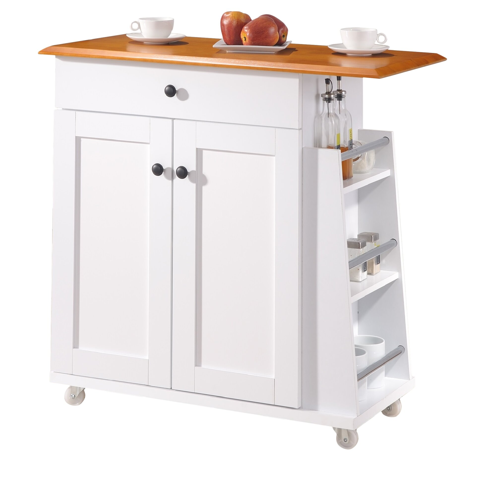 Wholesale Interiors Baxton Studio Kitchen Cart Reviews Wayfair