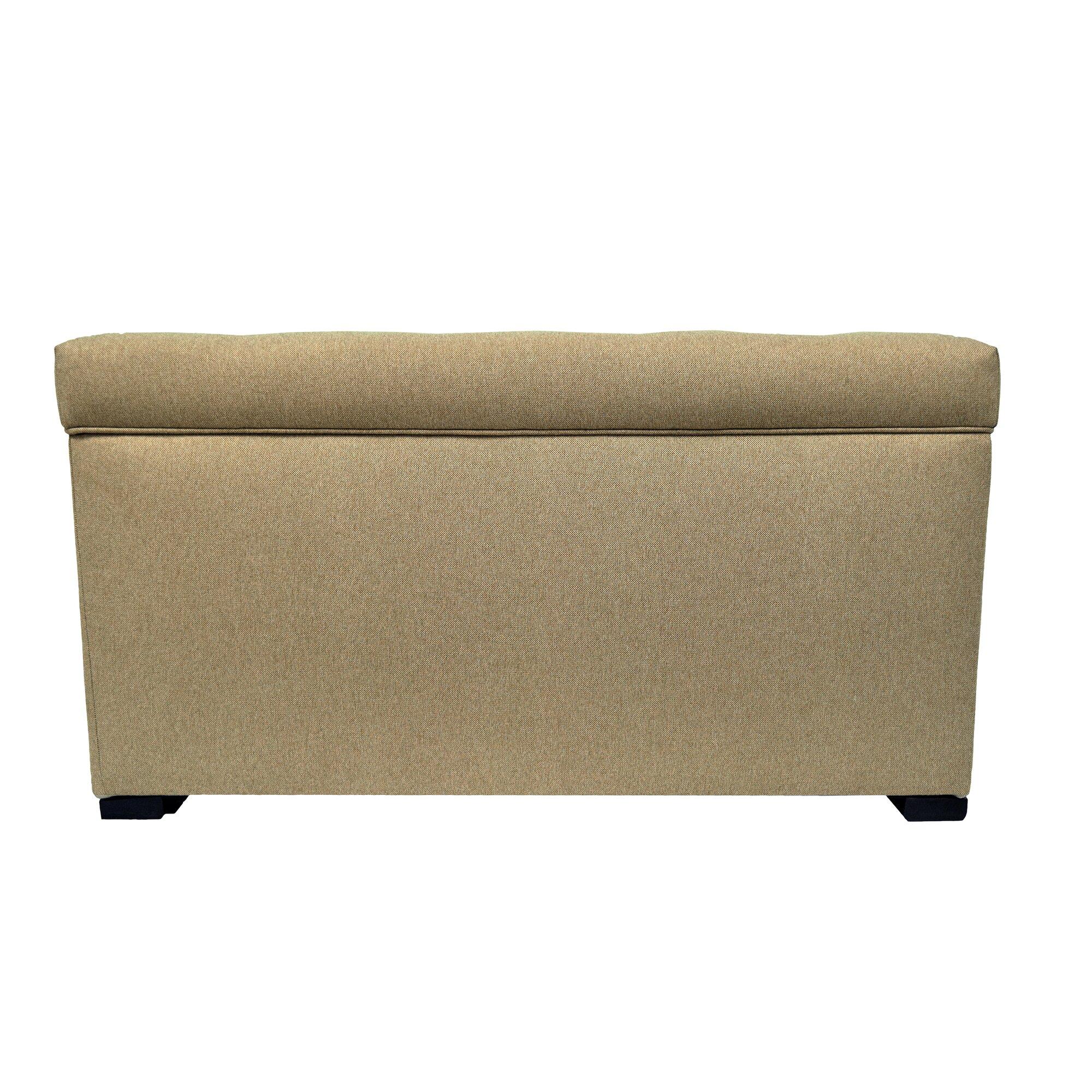 Allure Upholstered Storage Bedroom Bench Reviews Birch Lane
