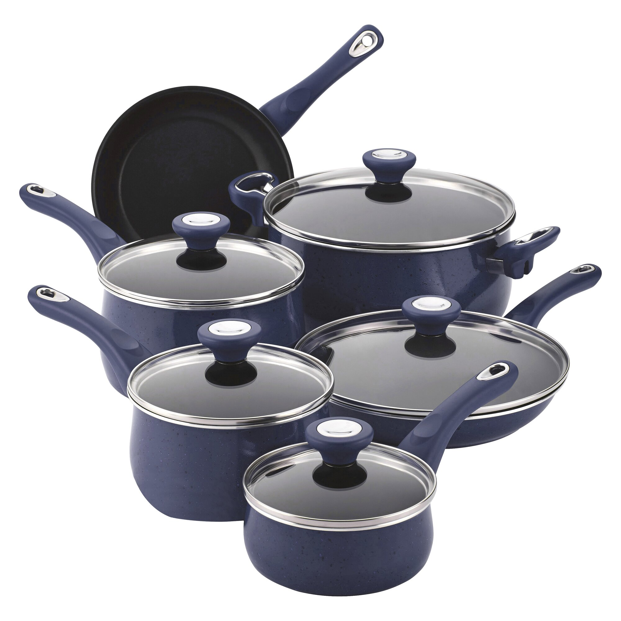 Farberware New Traditions 14 Piece Cookware Set & Reviews ...