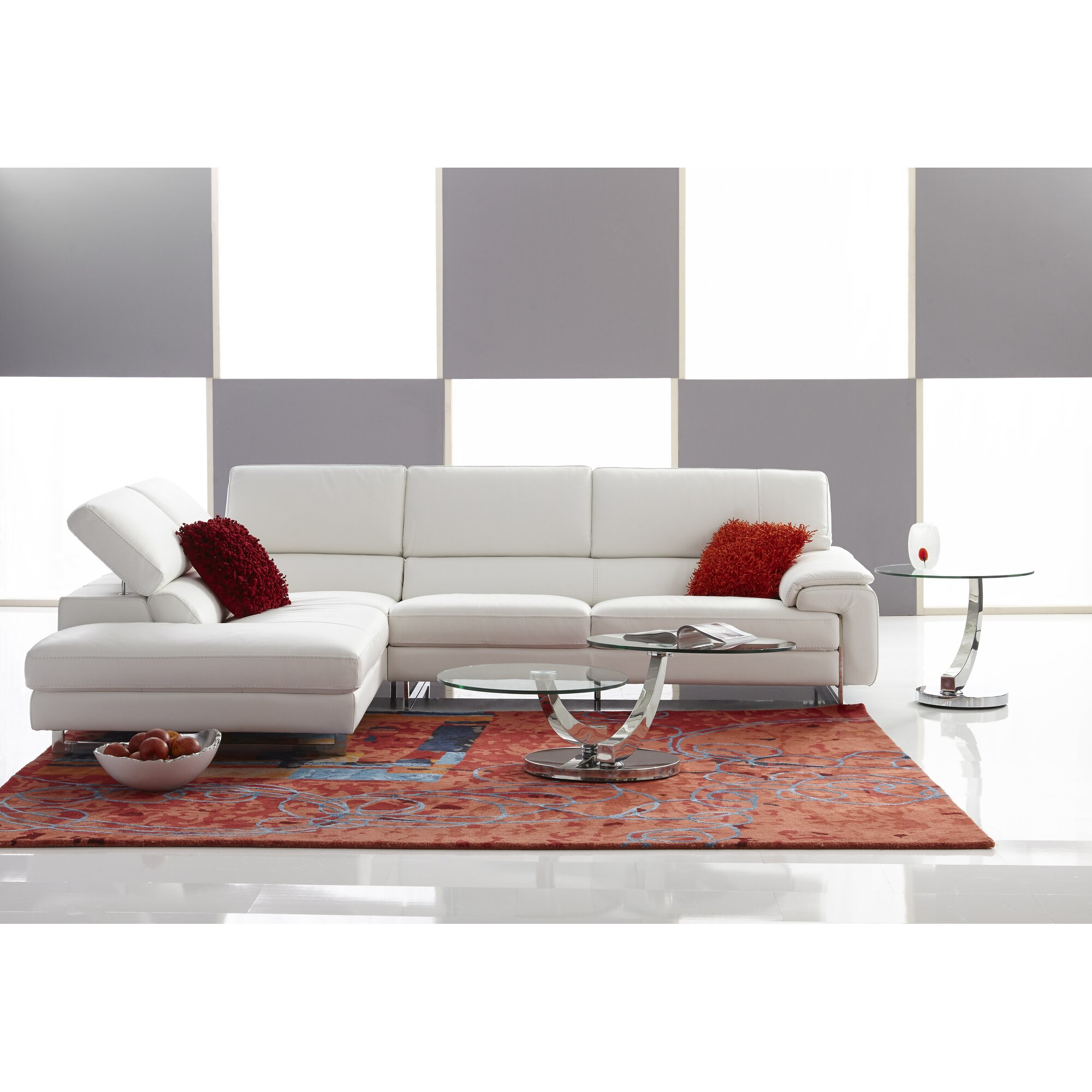 Bellini modern living allure coffee table reviews for Allure coffee table