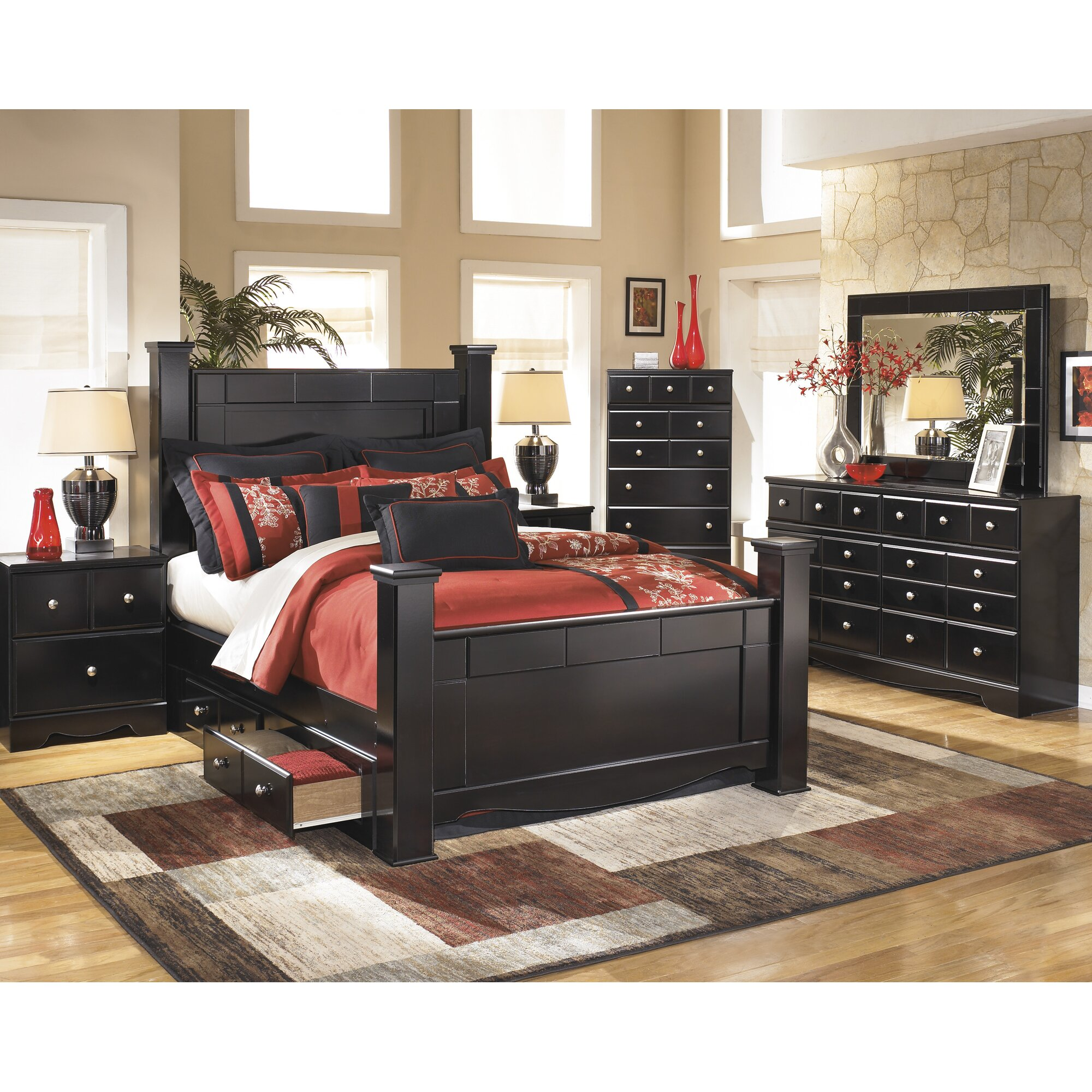 Red barrel studio cannonball way 5 drawer media chest for Household furniture catalogue