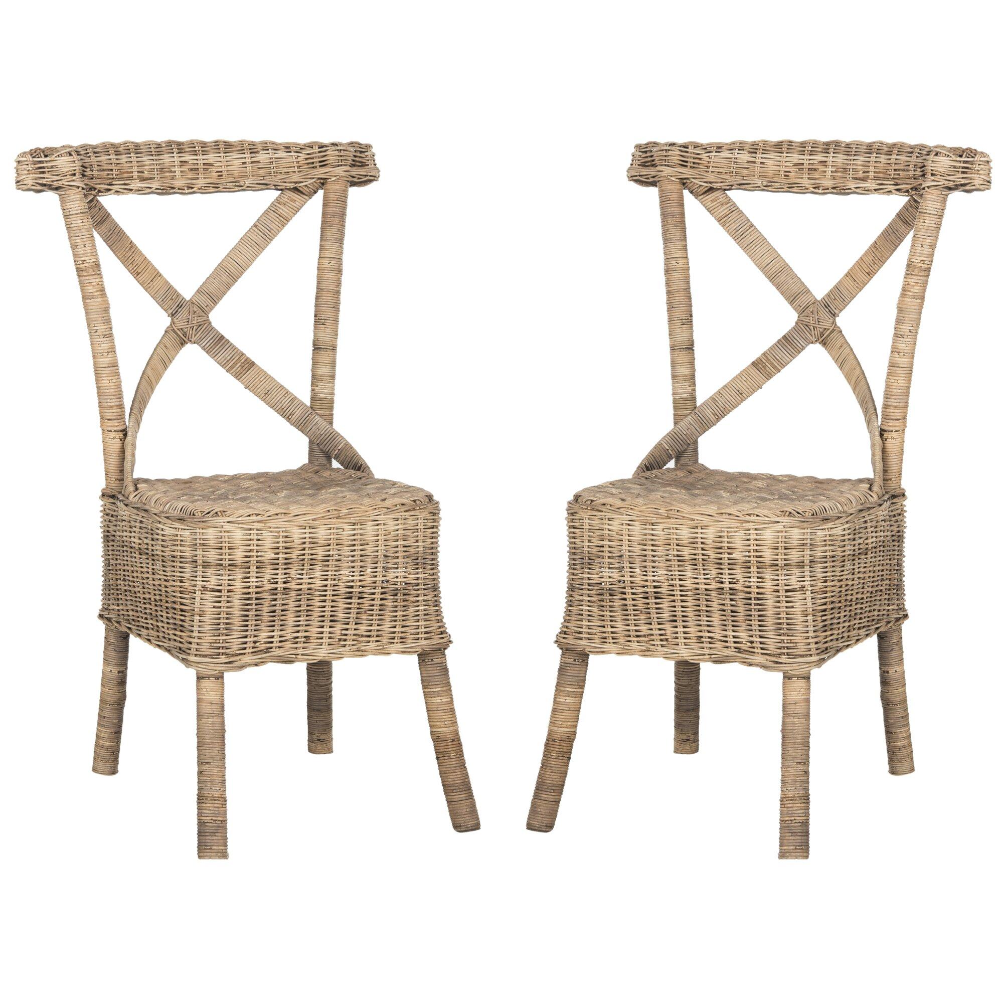 ophelia rattan side chair reviews joss main. Black Bedroom Furniture Sets. Home Design Ideas
