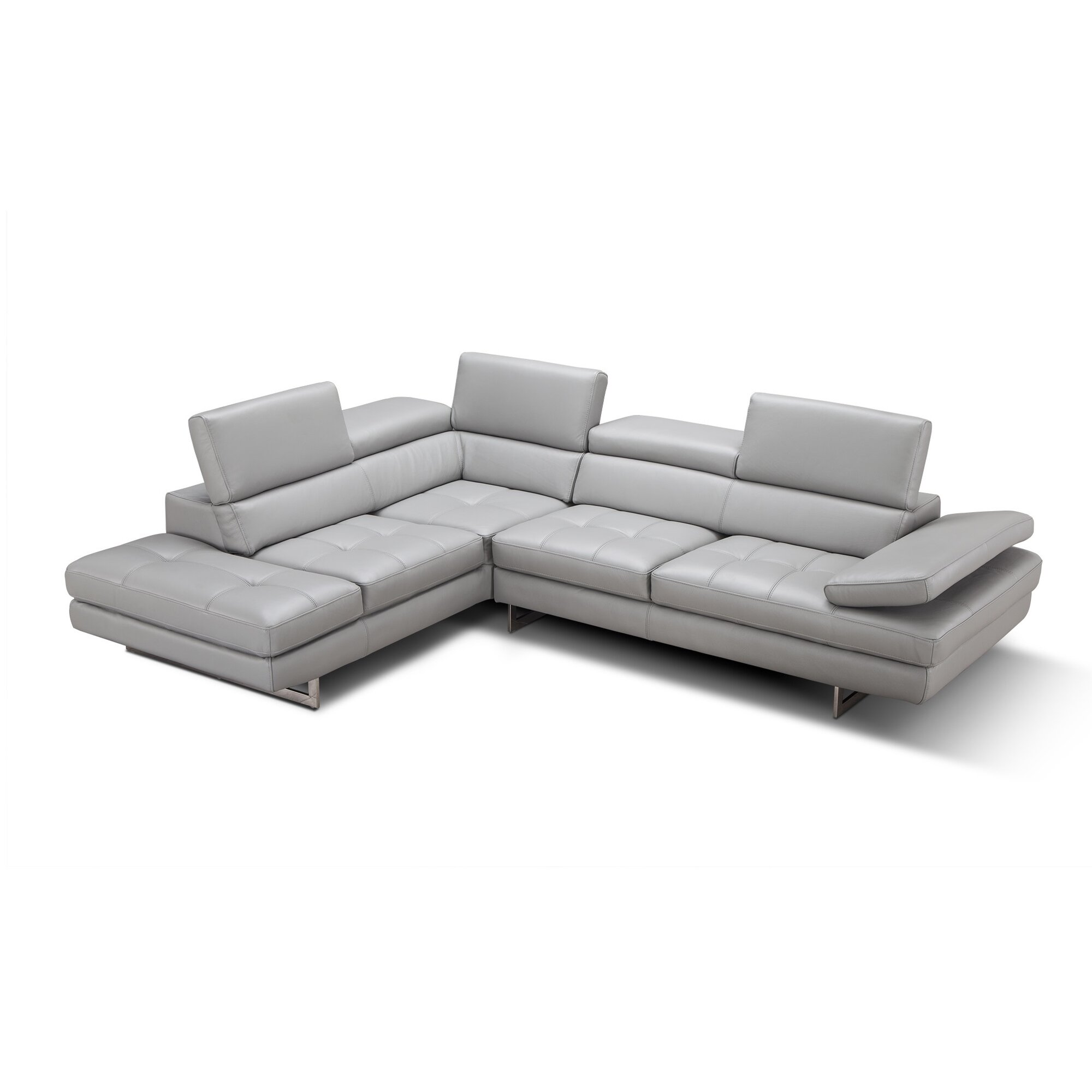 Gray Leather Sectional New Best Rated Sectional Sofas 30 About