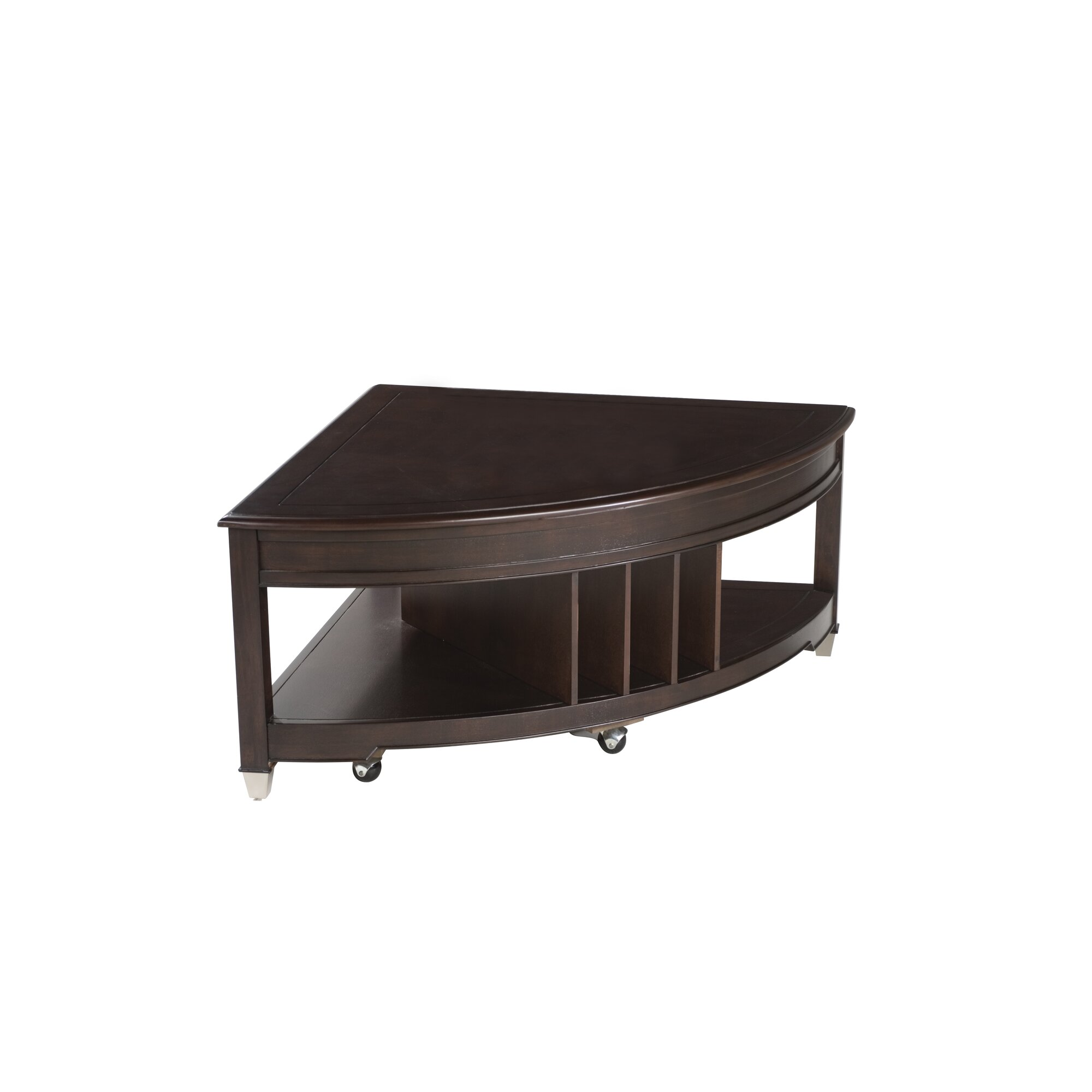 Magnussen Darien Coffee Table with Magazine Rack & Reviews ...