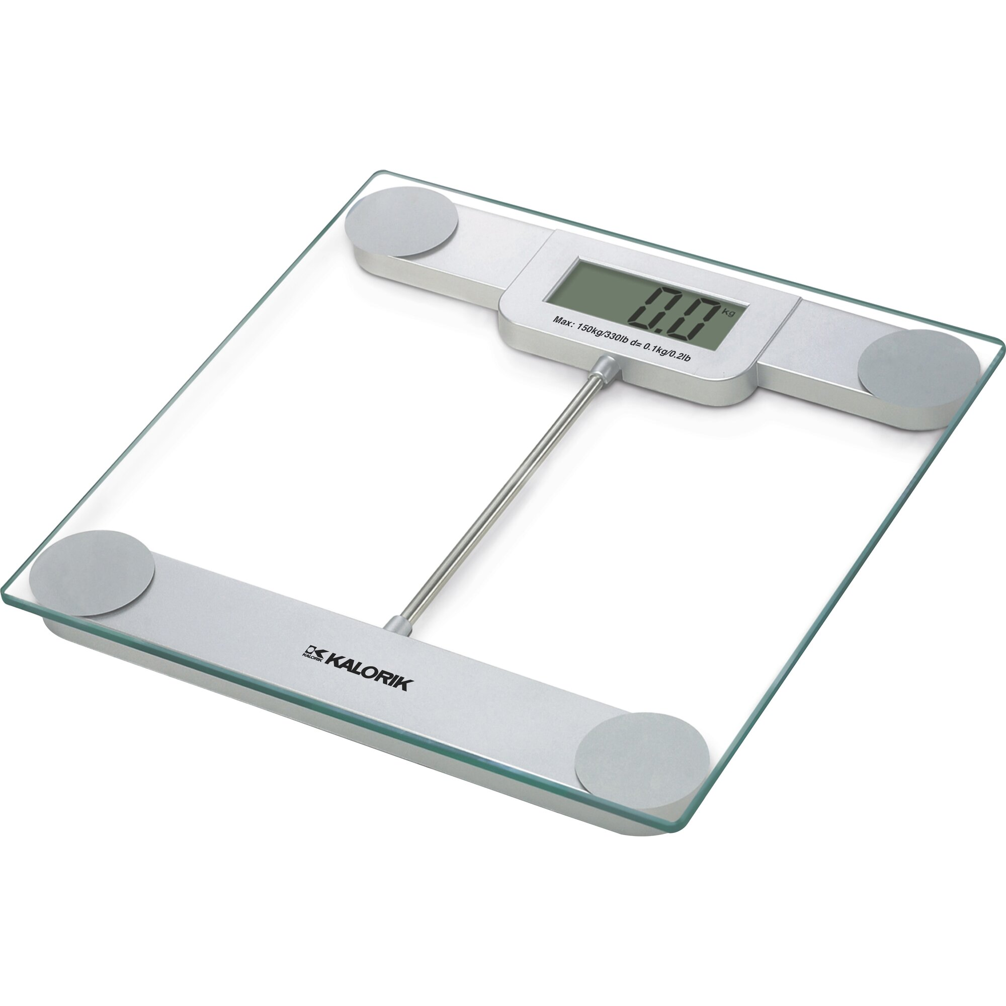 Bathroom Scale Ratings: Kalorik Precision Digital Glass Bath Scale & Reviews